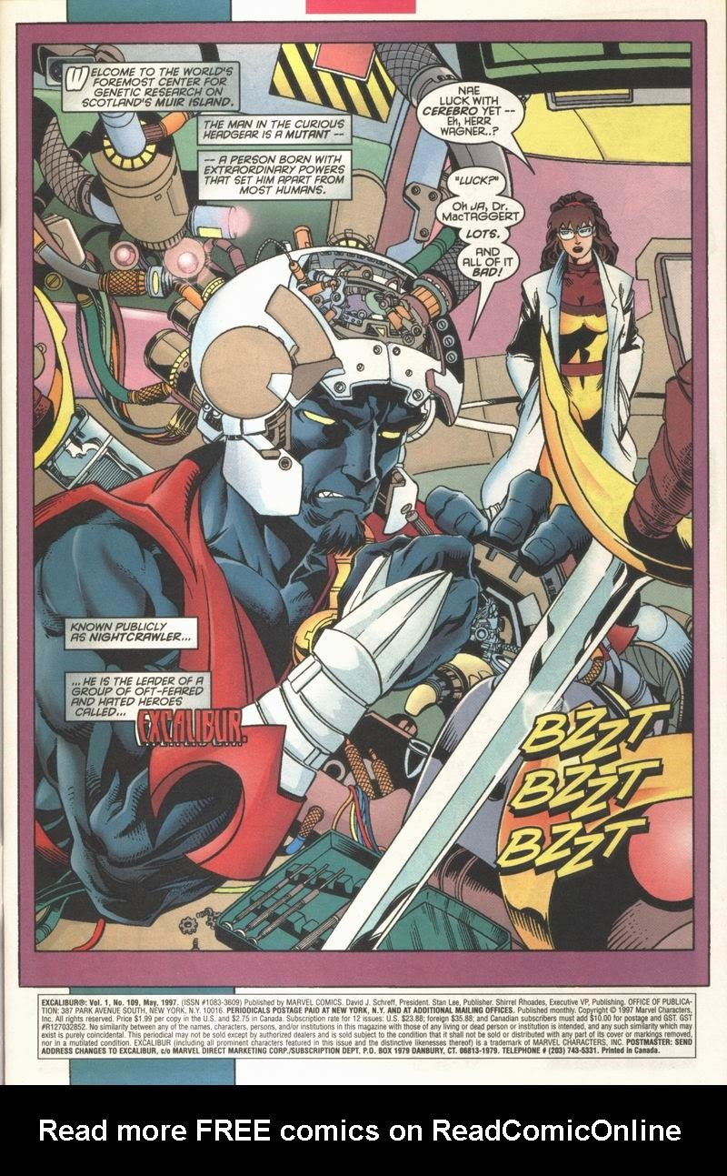 Excalibur (1988) issue 109 - Page 2