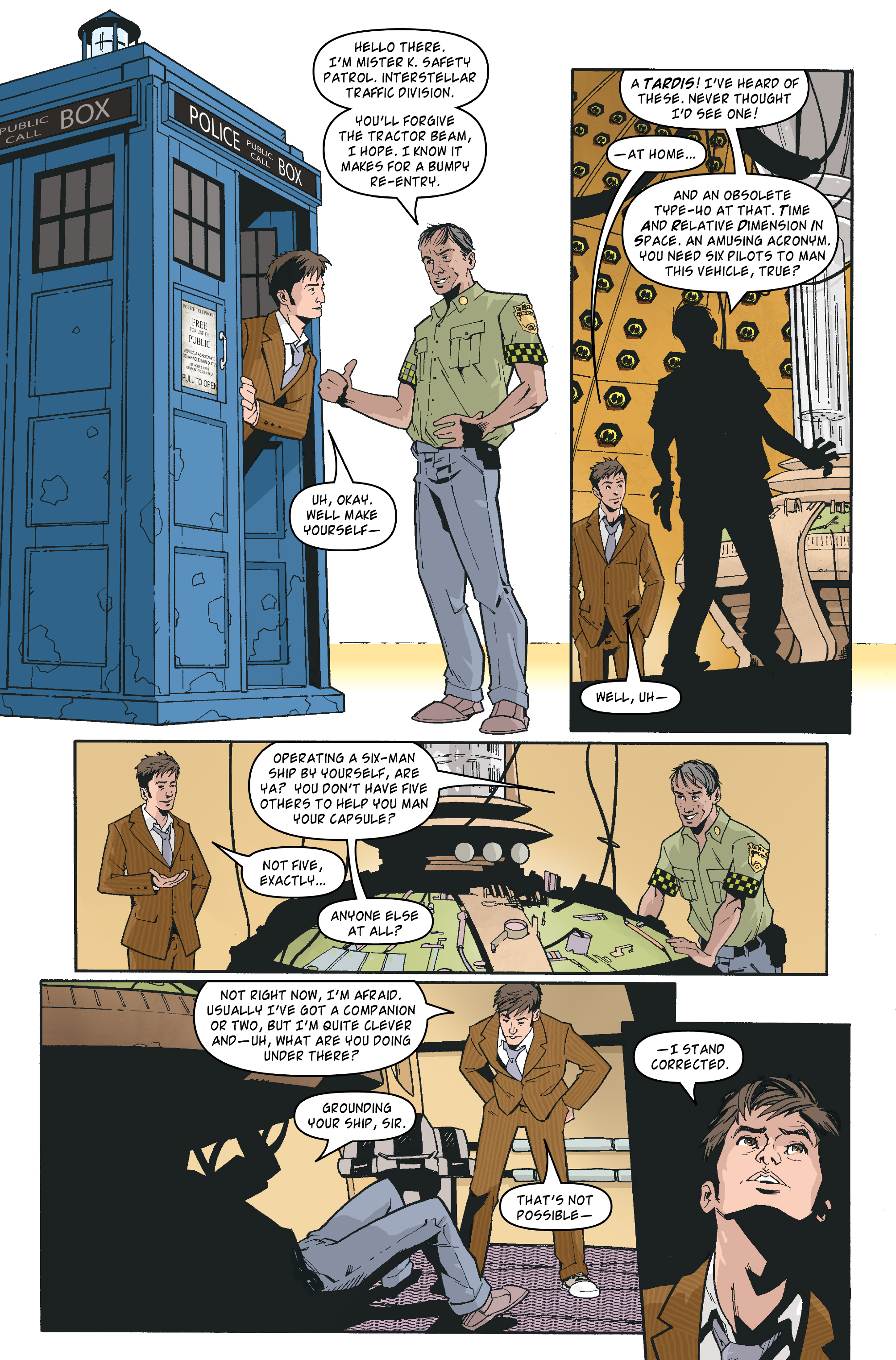 Read online Doctor Who: The Tenth Doctor Archives comic -  Issue #35 - 5