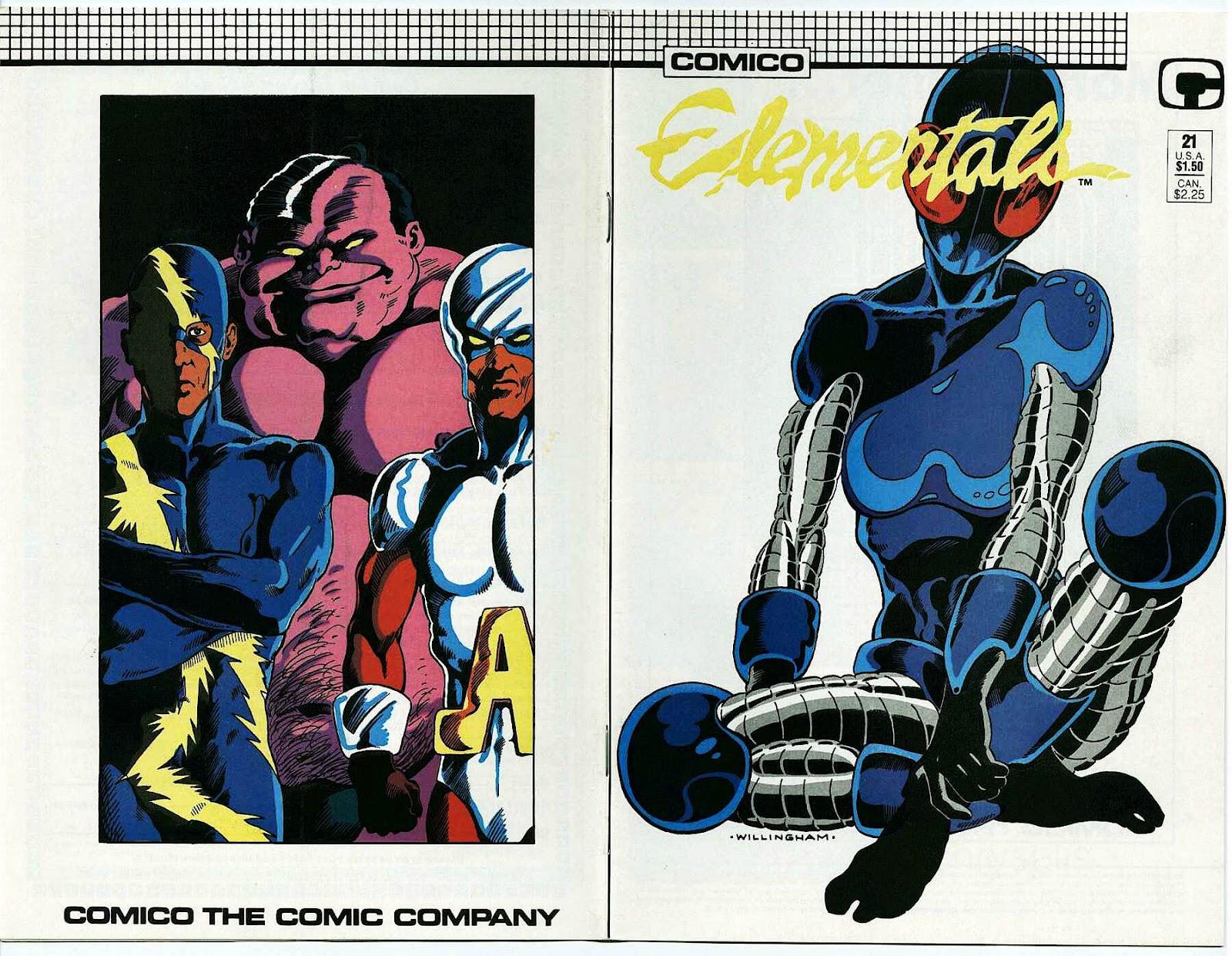 Elementals (1984) issue 21 - Page 1