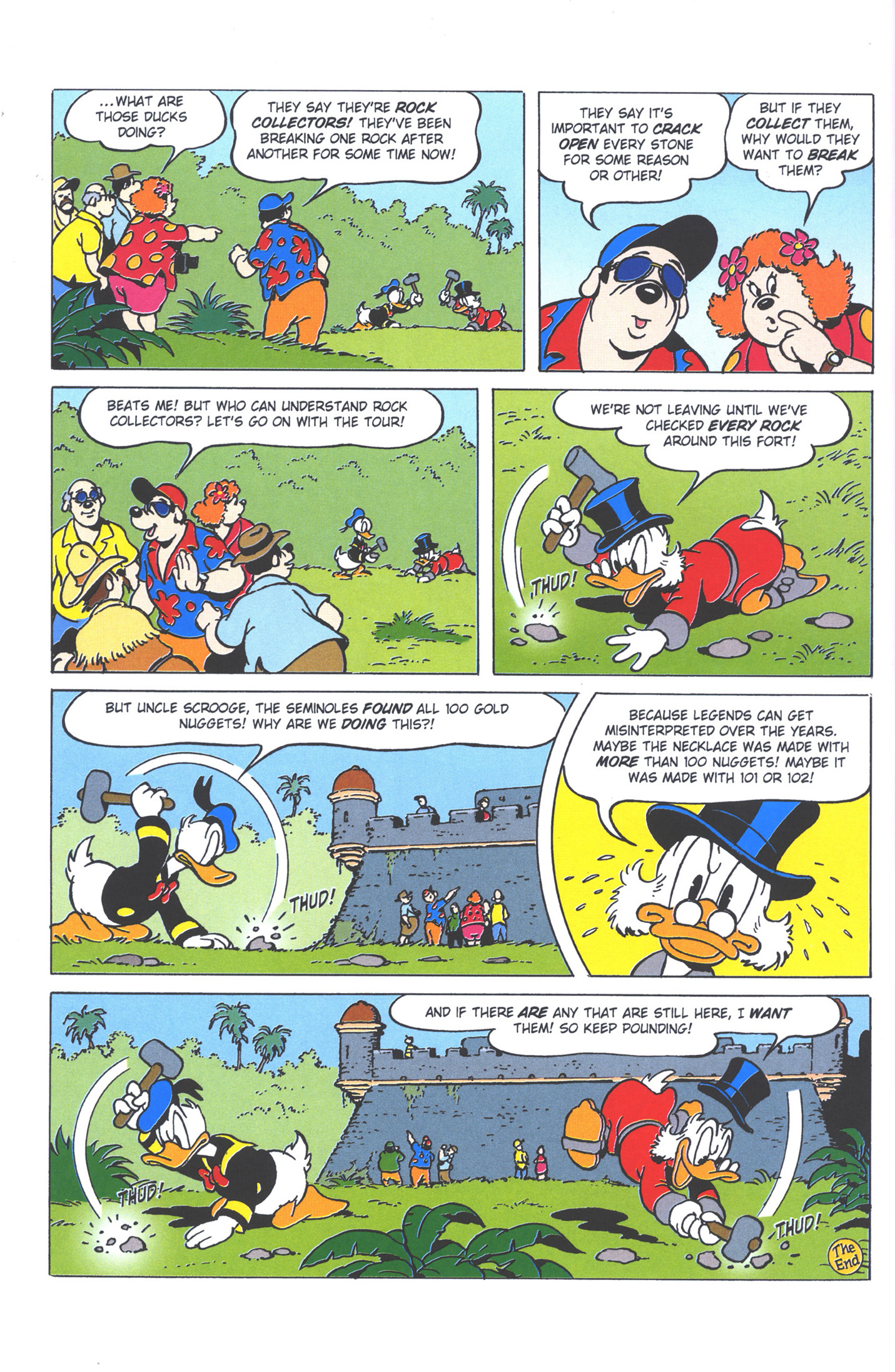 Read online Uncle Scrooge (1953) comic -  Issue #378 - 64