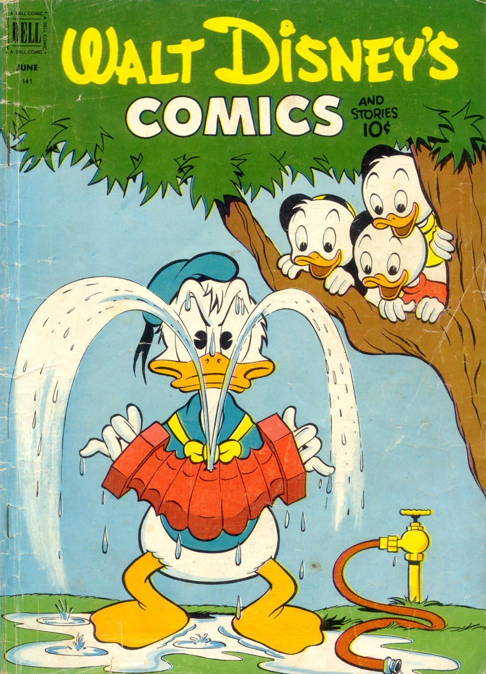 Walt Disneys Comics and Stories 141 Page 1