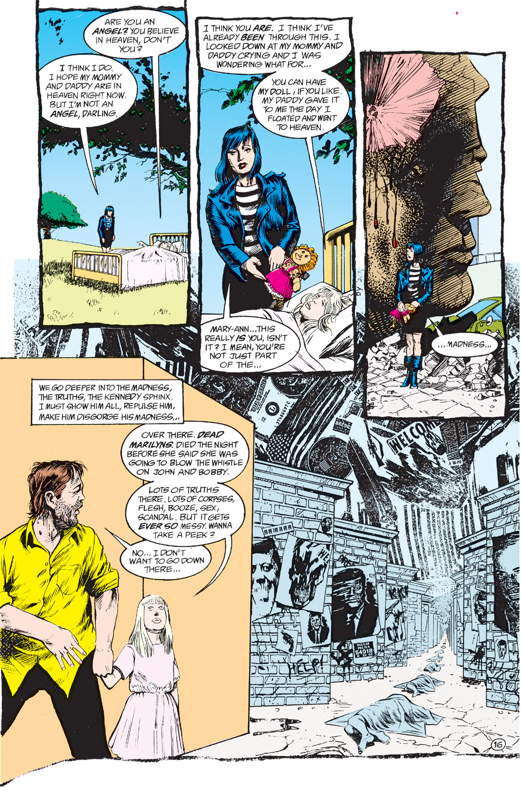 Read online Shade, the Changing Man comic -  Issue #3 - 18
