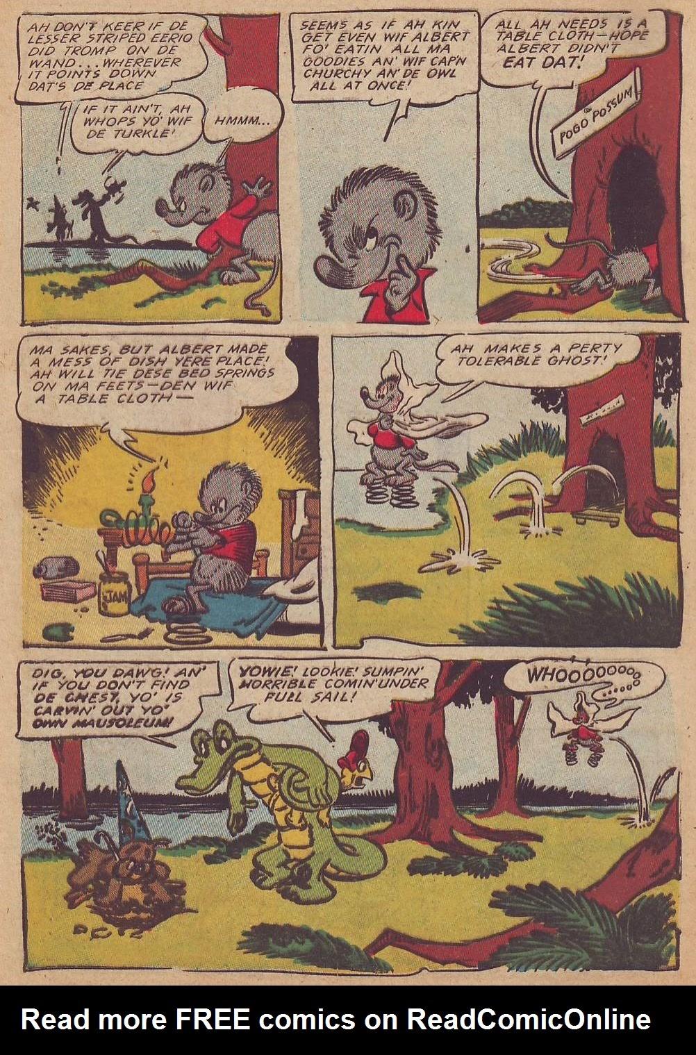 Read online Animal Comics comic -  Issue #23 - 12
