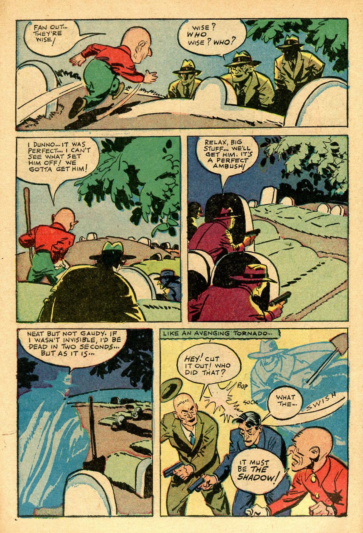Read online Shadow Comics comic -  Issue #69 - 10
