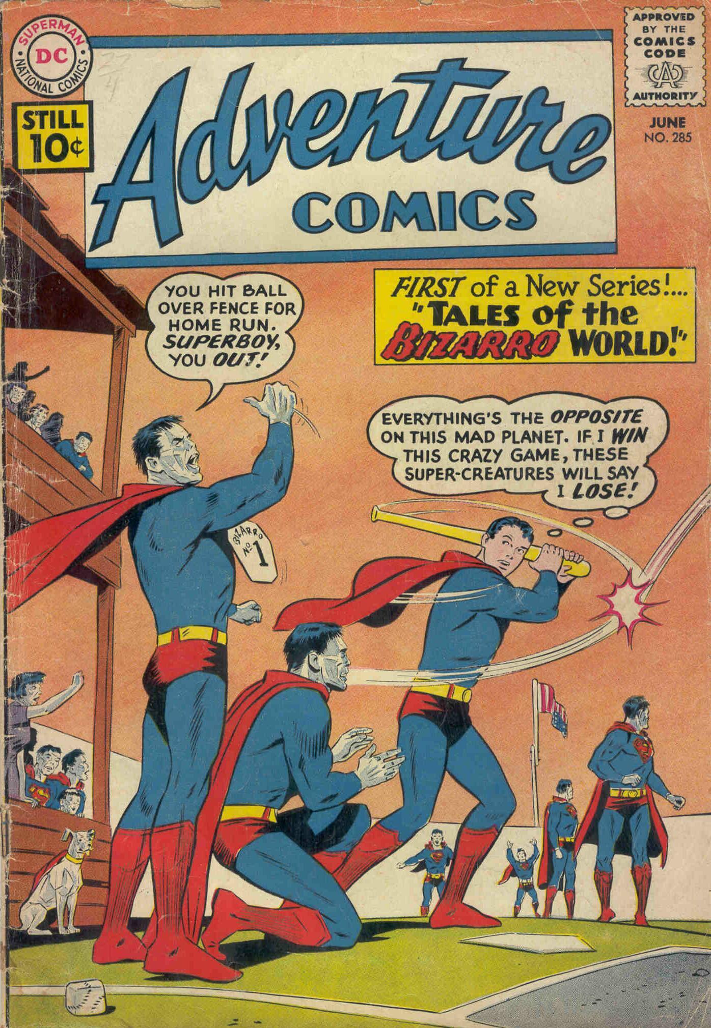 Read online Adventure Comics (1938) comic -  Issue #285 - 1