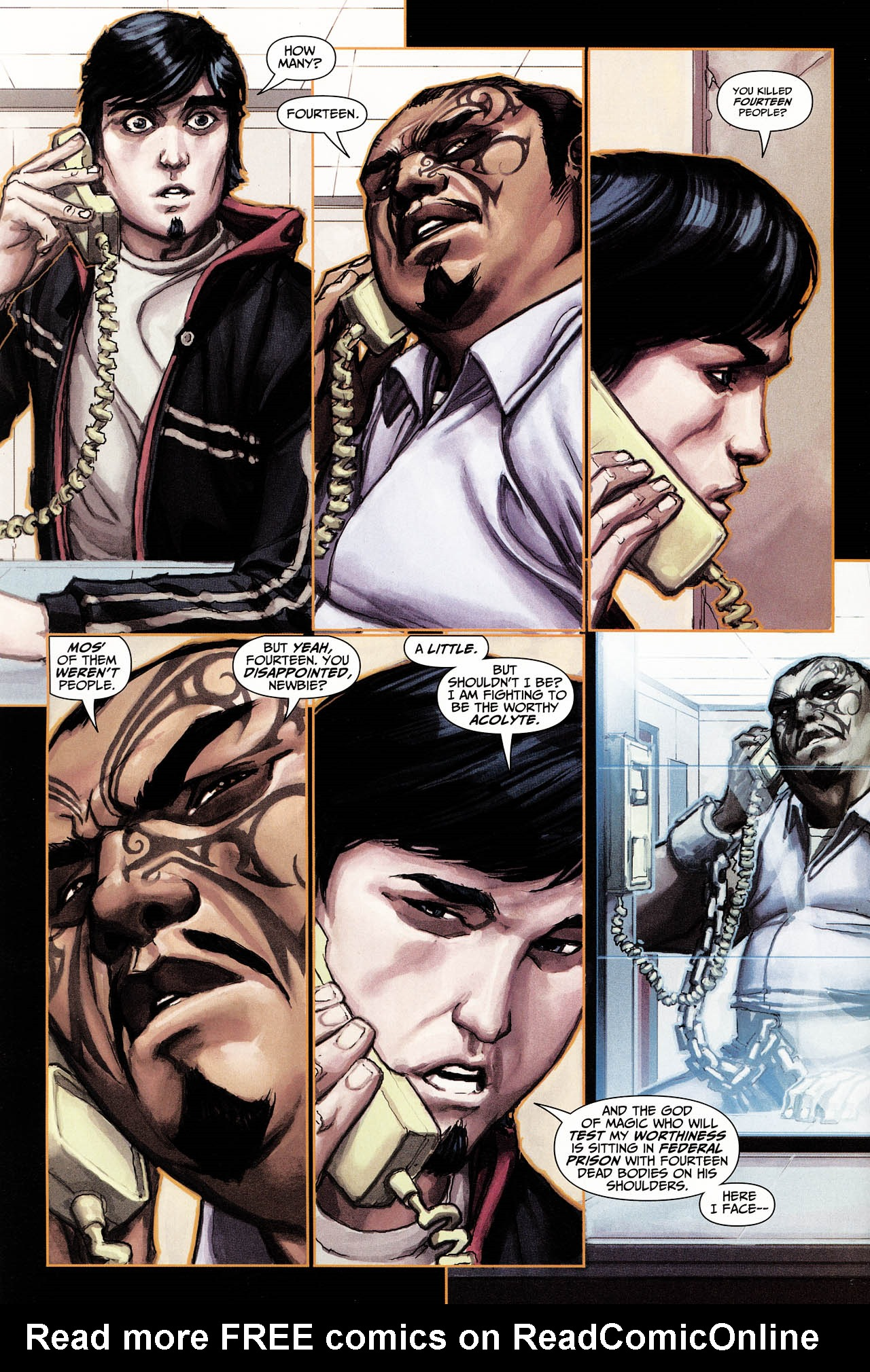 Read online Trials of Shazam comic -  Issue #6 - 9