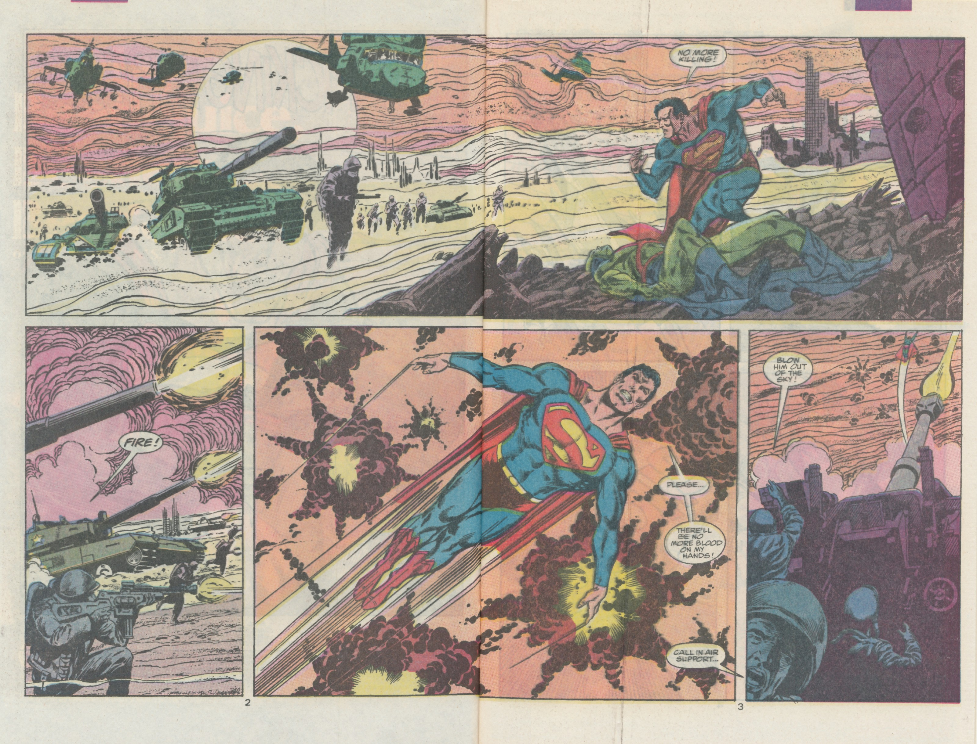 Read online Action Comics (1938) comic -  Issue #666 - 4