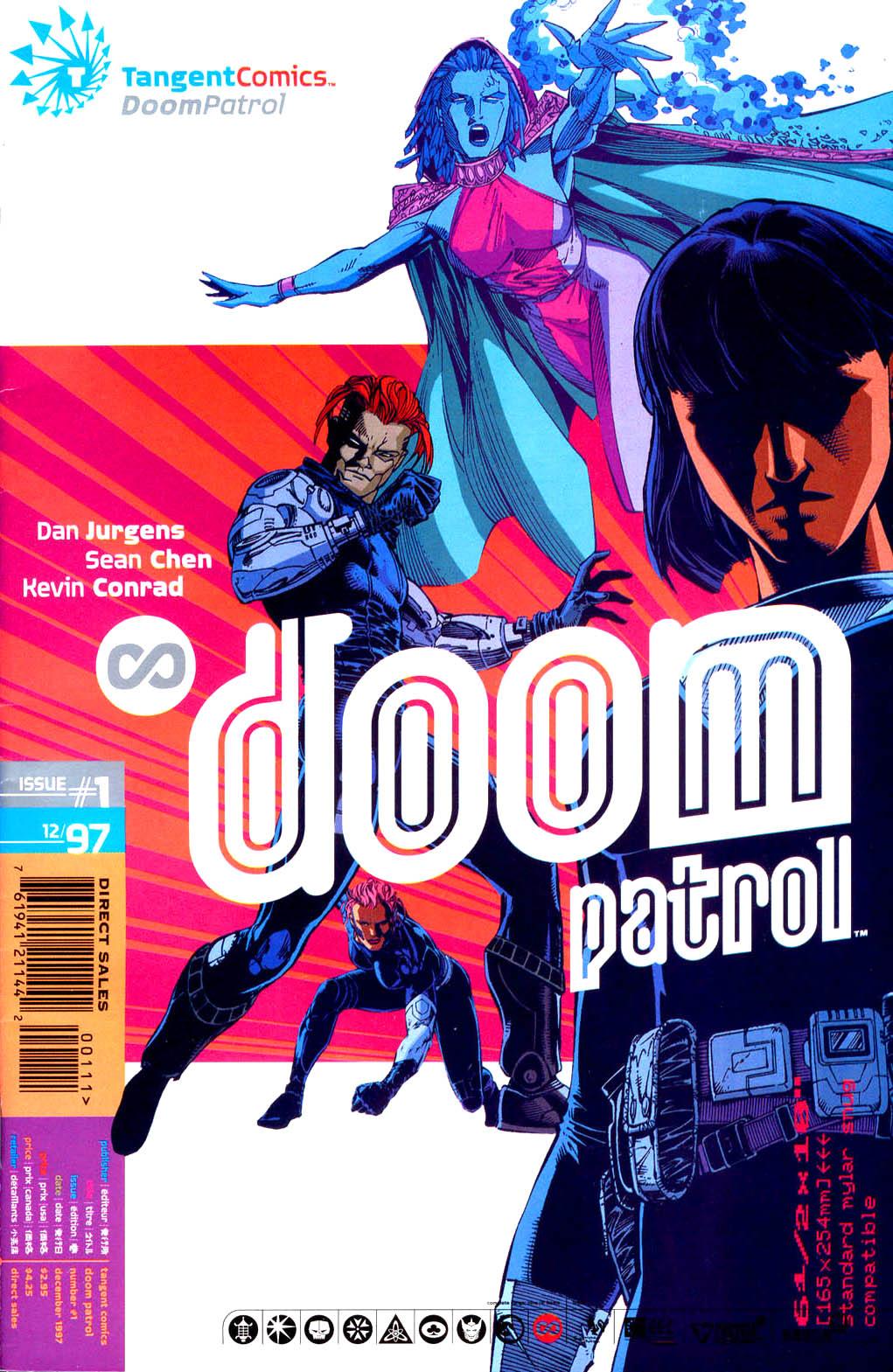 Read online Tangent Comics/ Doom Patrol comic -  Issue # Full - 1