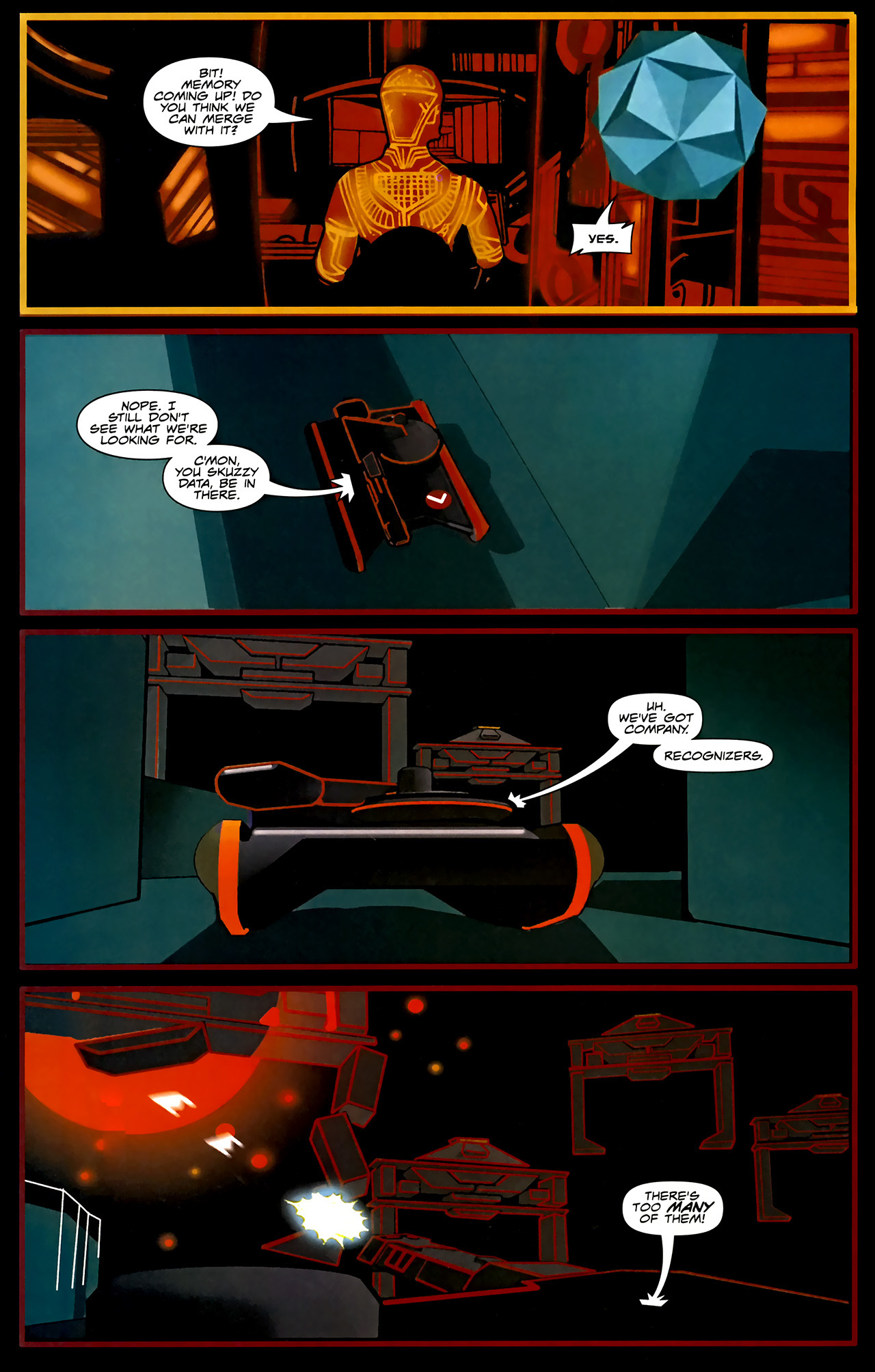 Read online TRON: Original Movie Adaptation comic -  Issue #1 - 12