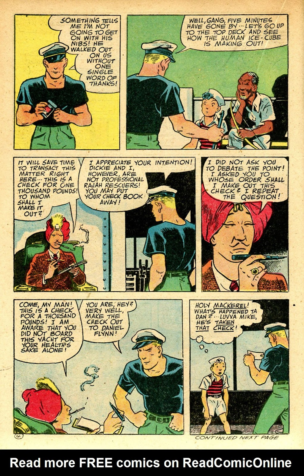 Read online Famous Funnies comic -  Issue #129 - 24