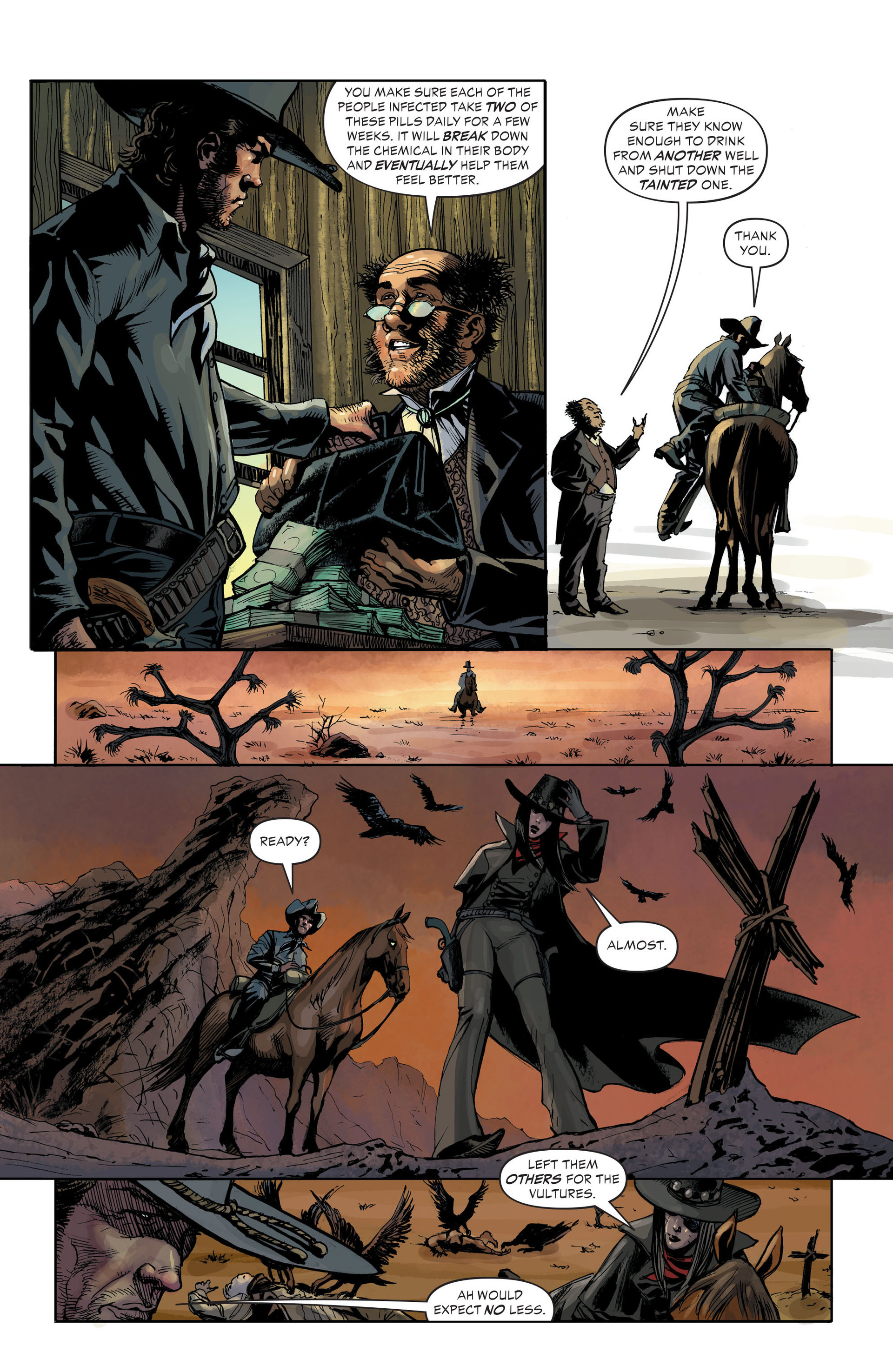 Read online All-Star Western (2011) comic -  Issue #33 - 18