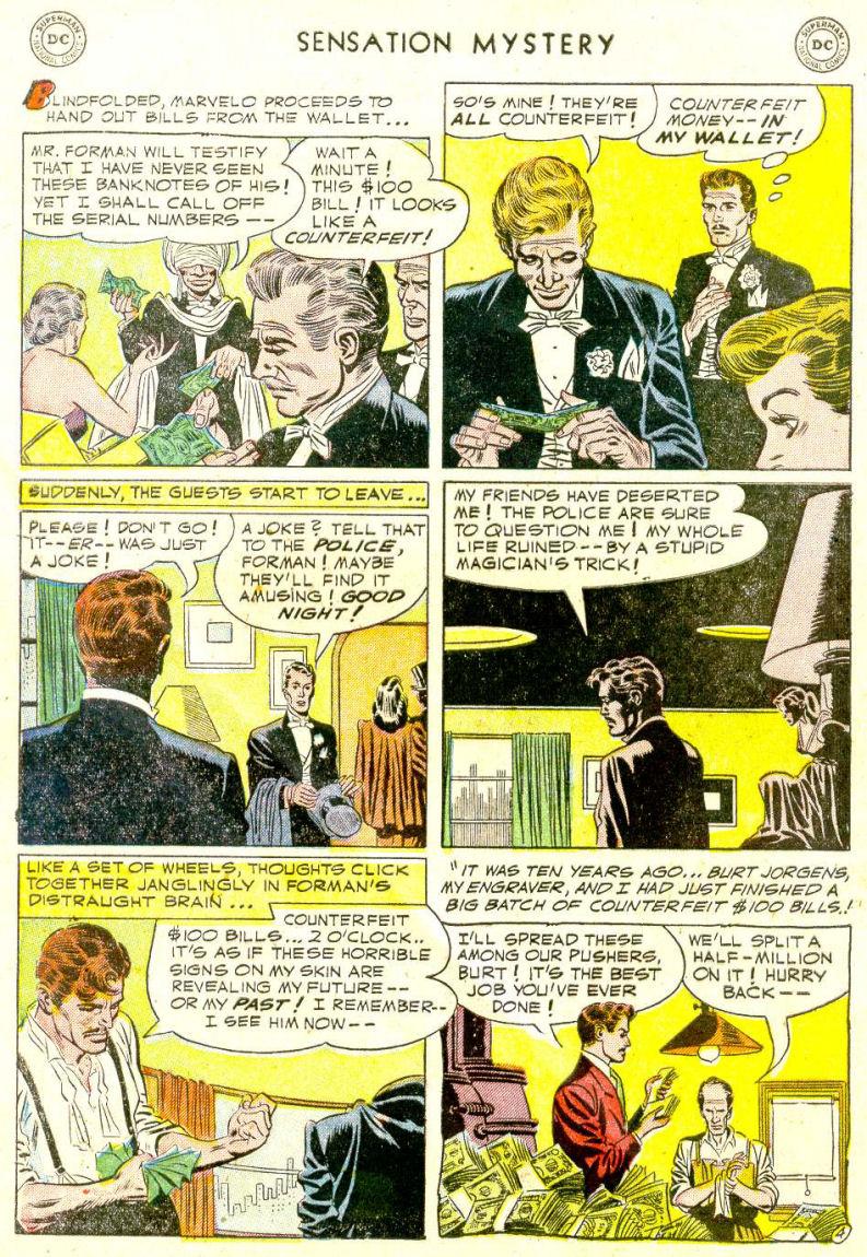 Read online Sensation (Mystery) Comics comic -  Issue #112 - 28