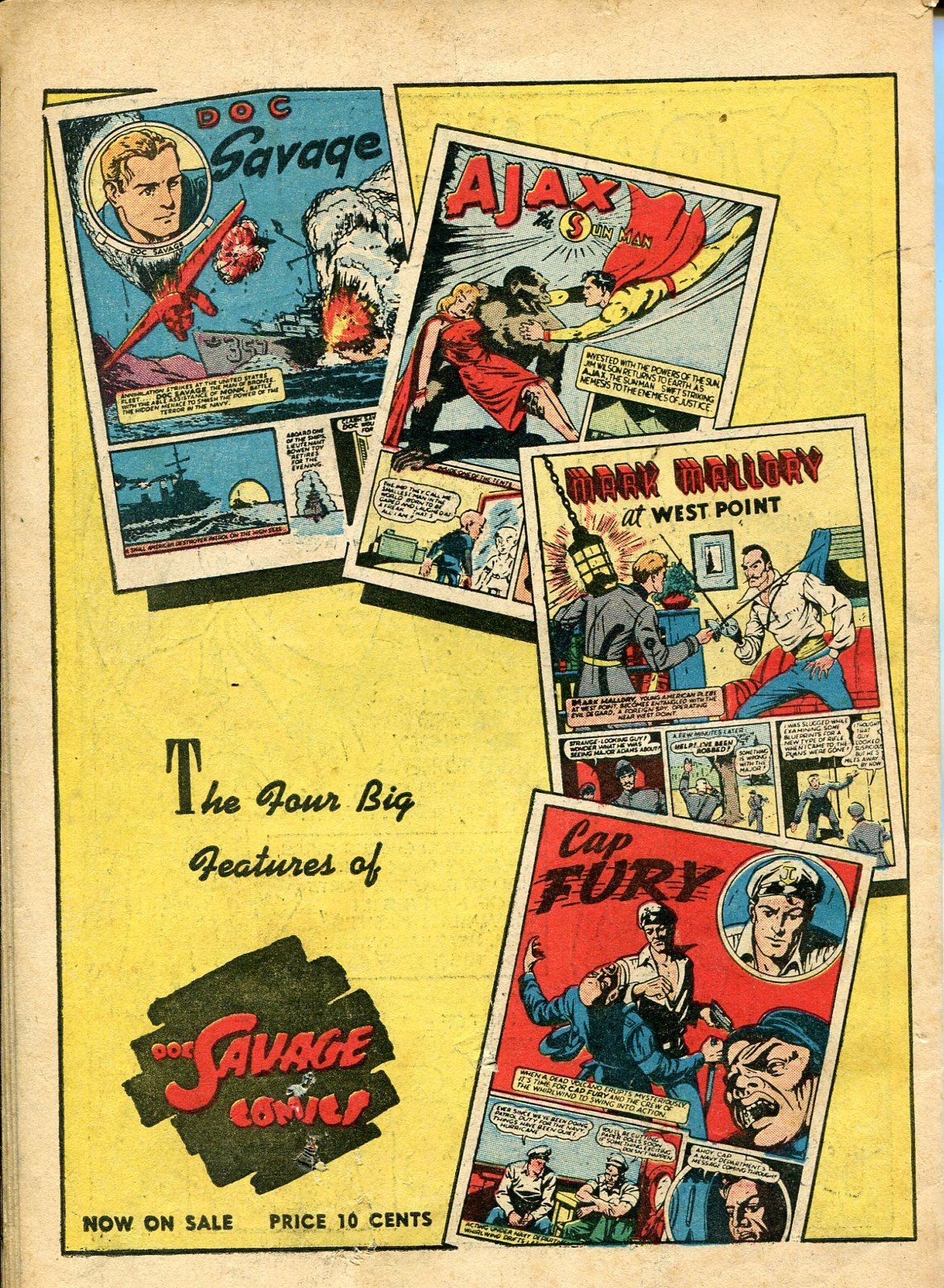 Read online Shadow Comics comic -  Issue #10 - 66