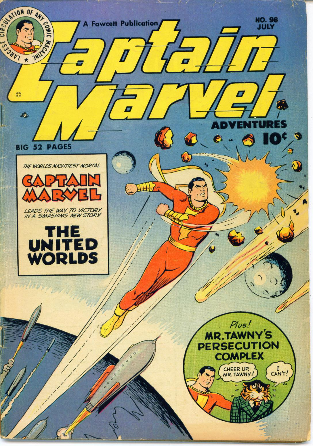 Captain Marvel Adventures issue 98 - Page 1
