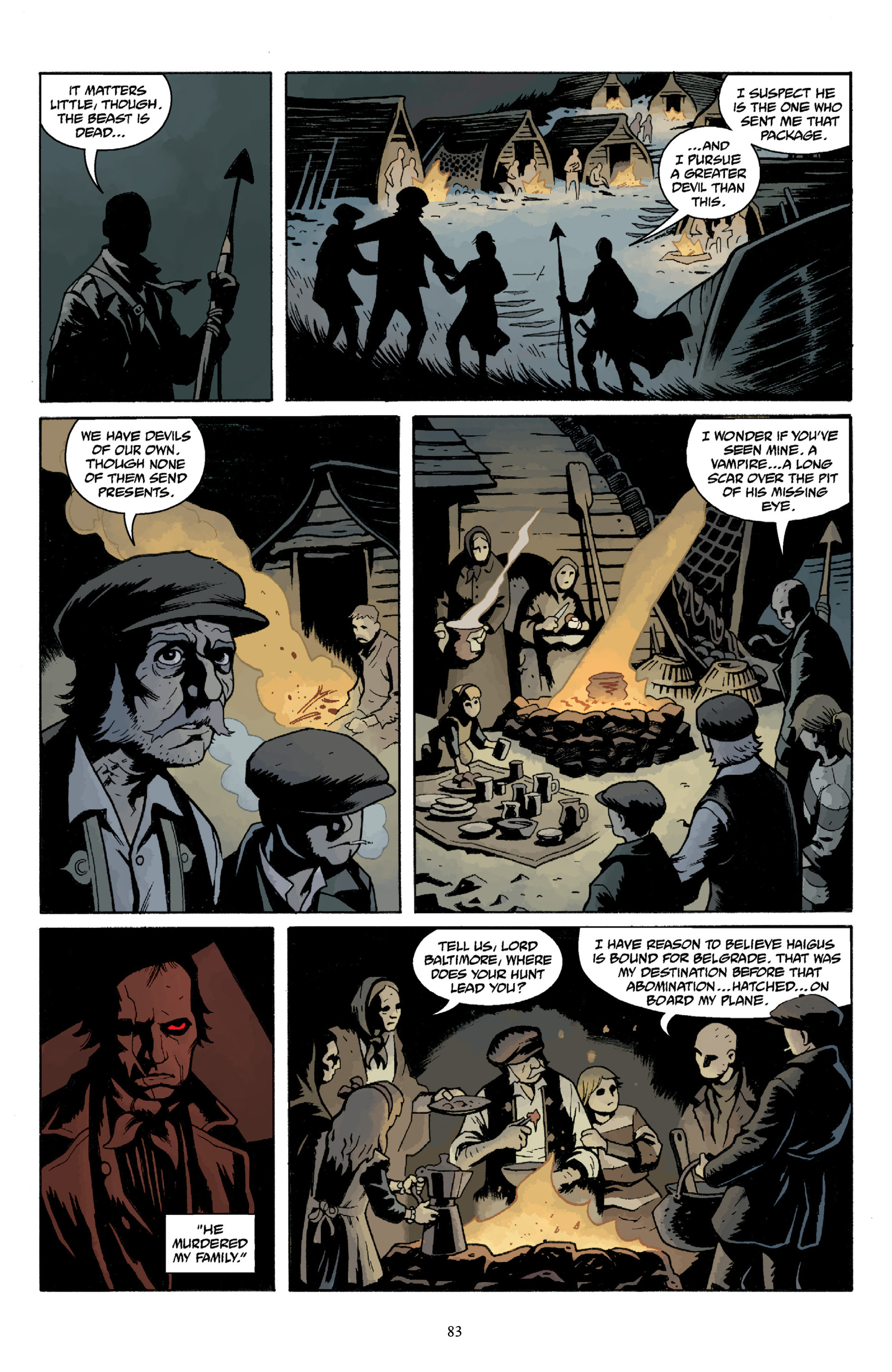 Read online Baltimore Volume 3: A Passing Stranger and Other Stories comic -  Issue # Full - 85