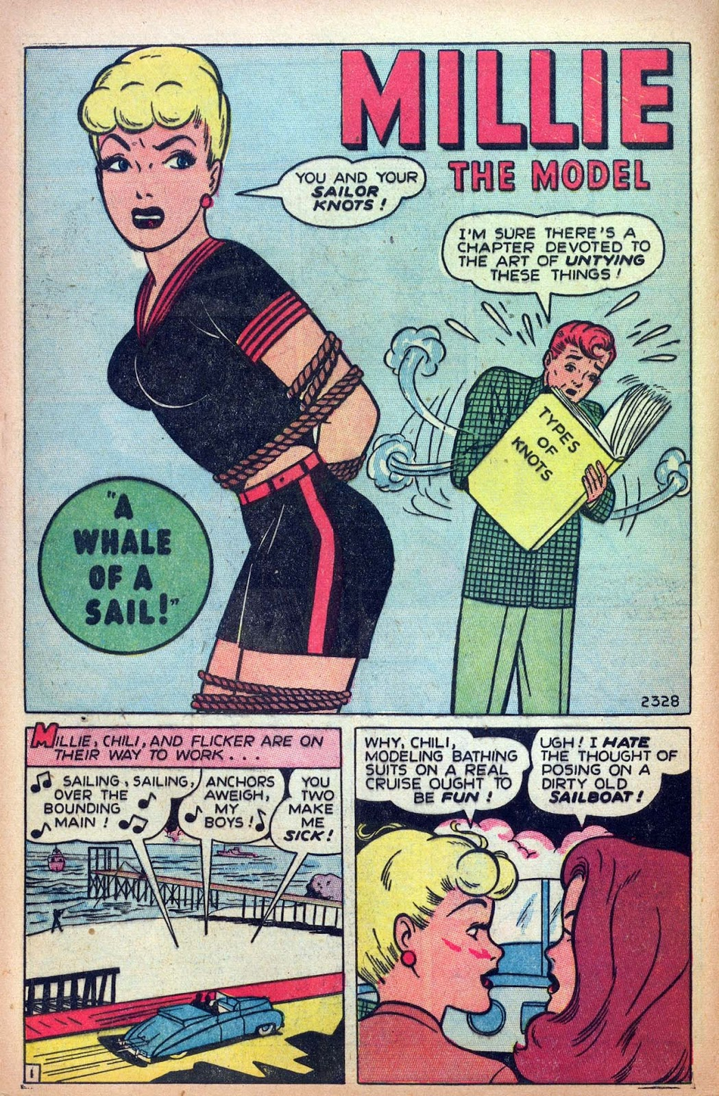 Read online Millie the Model comic -  Issue #13 - 10