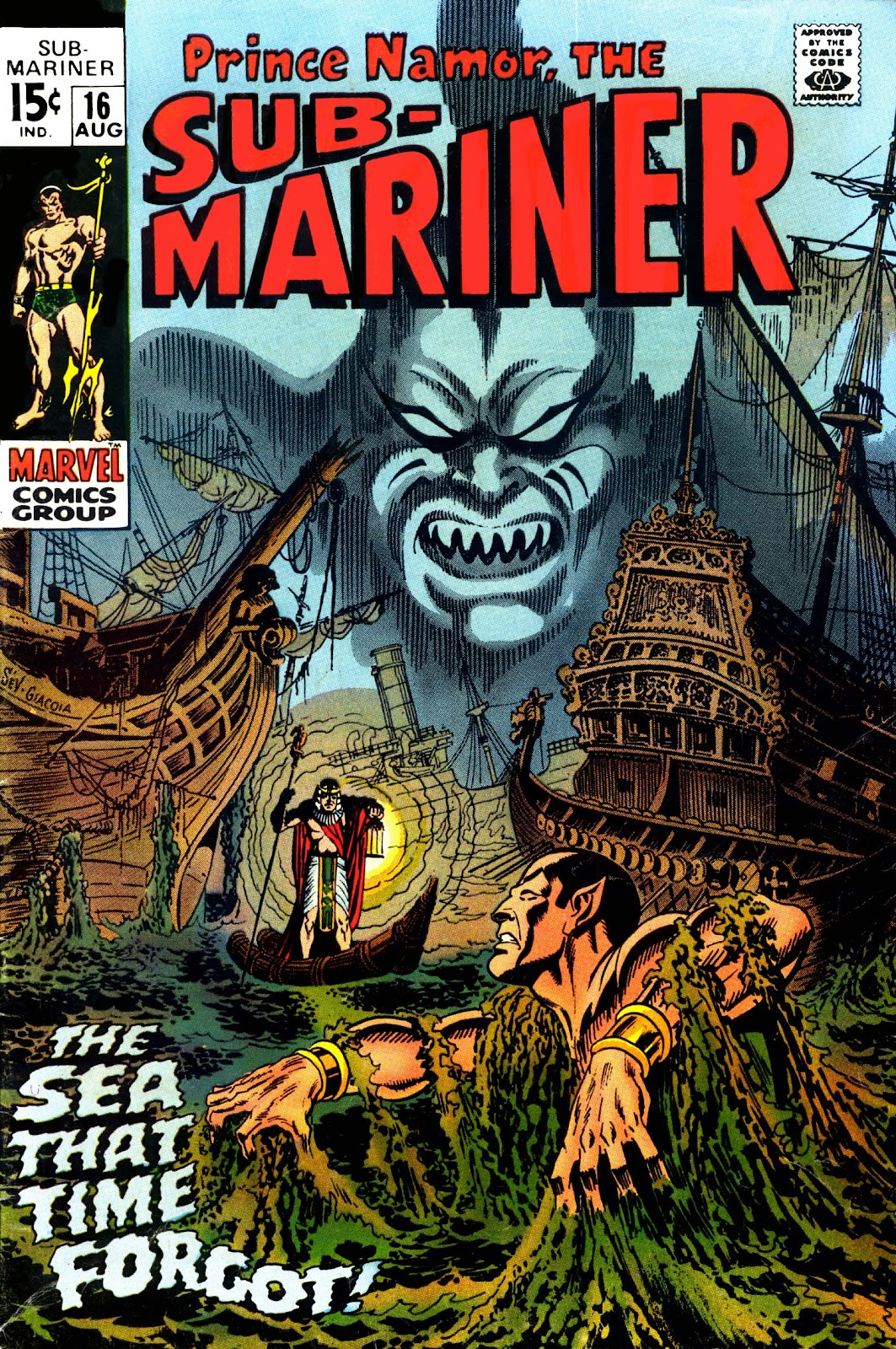 The Sub-Mariner 16 Page 1