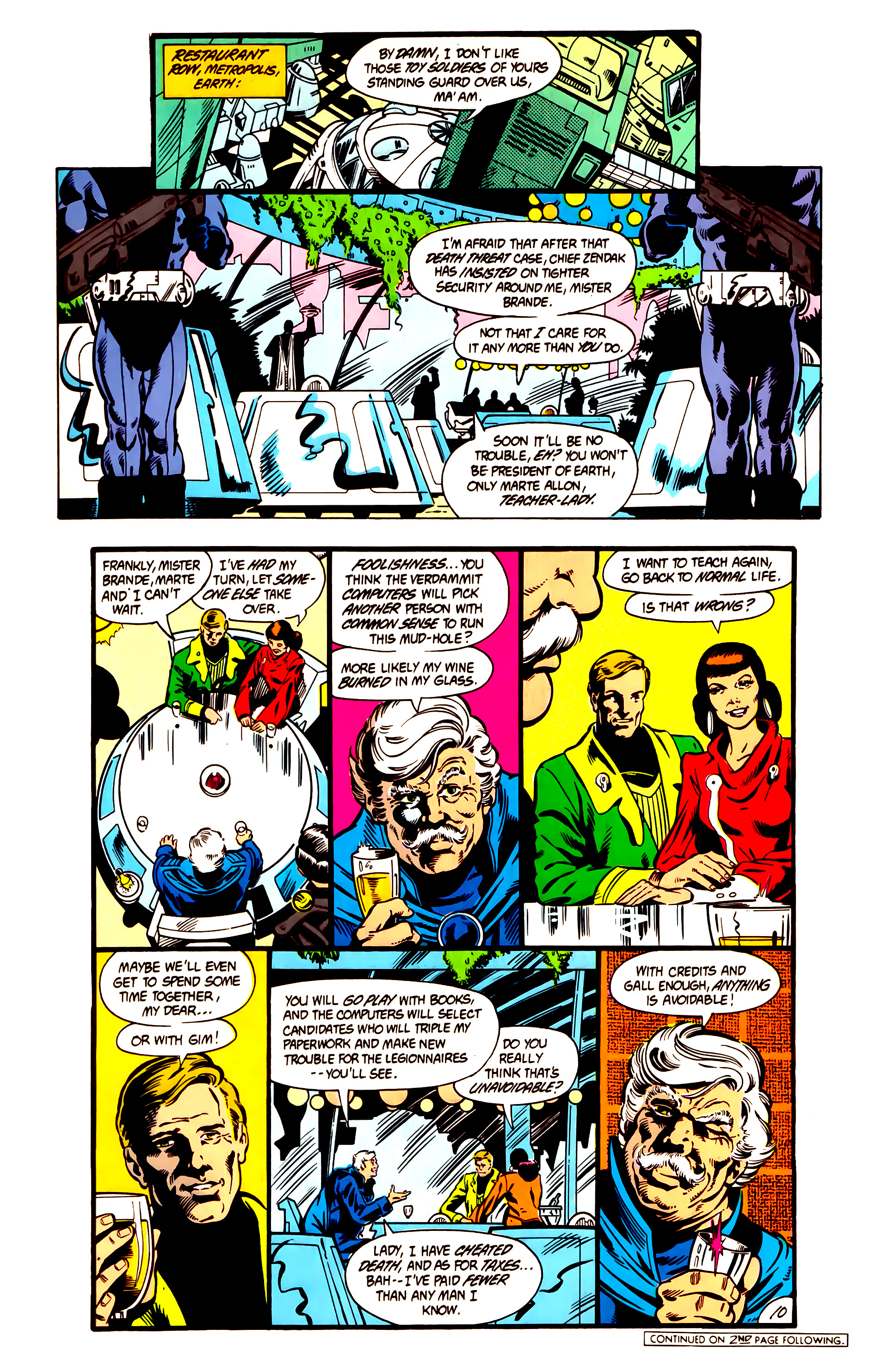 Legion of Super-Heroes (1984) 3 Page 11
