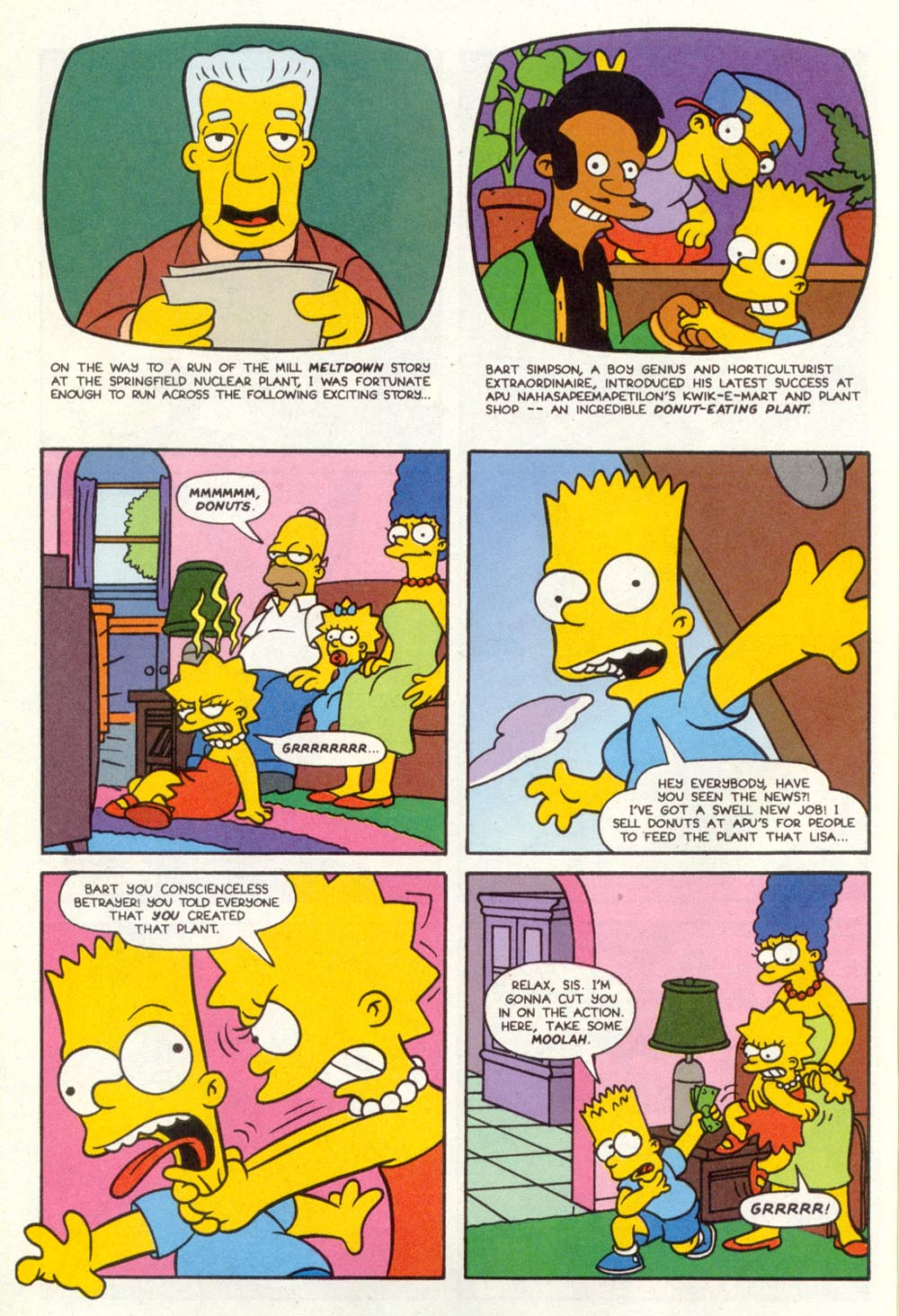 Read online Treehouse of Horror comic -  Issue #1 - 12