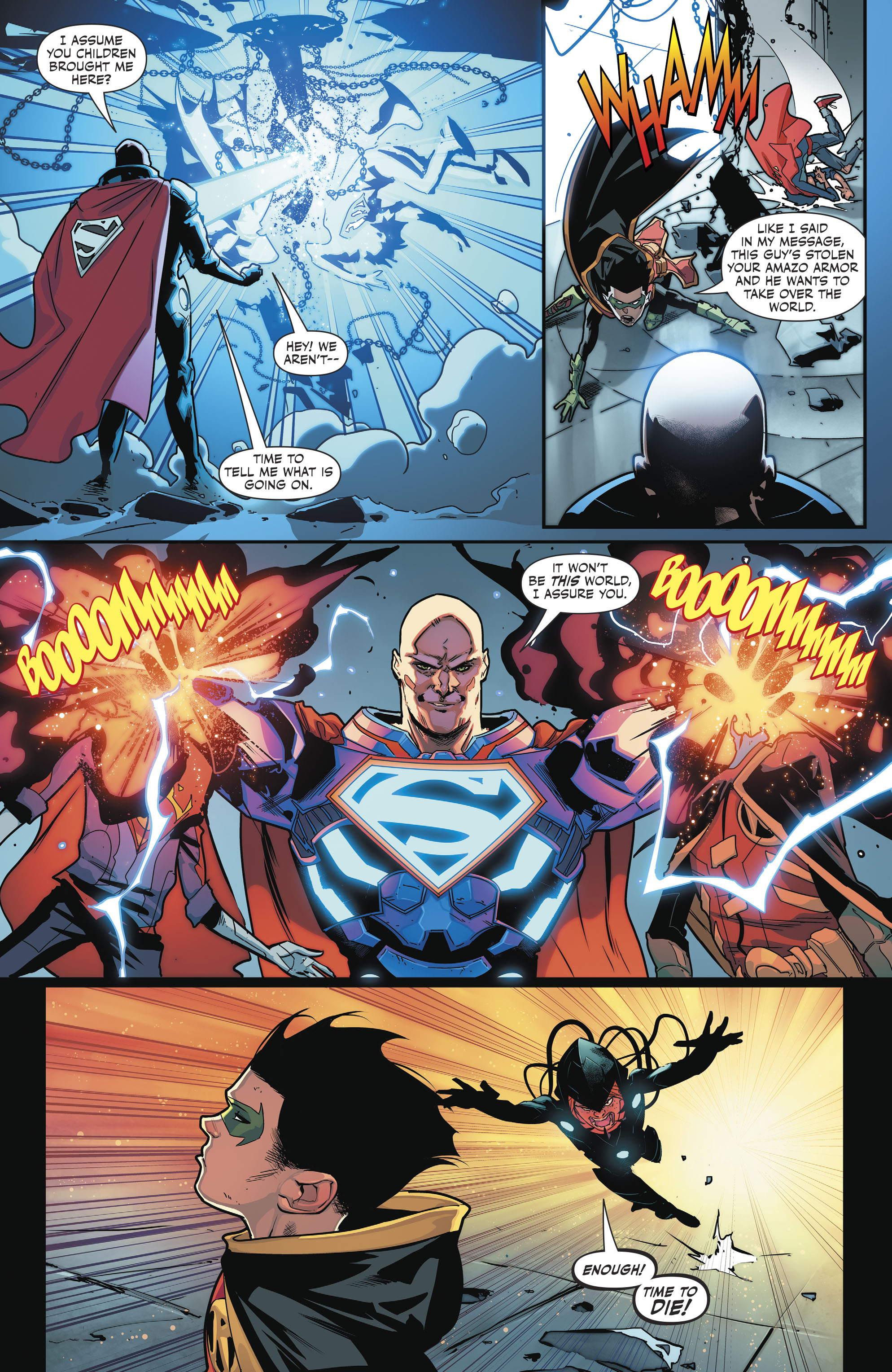 Read online Super Sons comic -  Issue #4 - 11