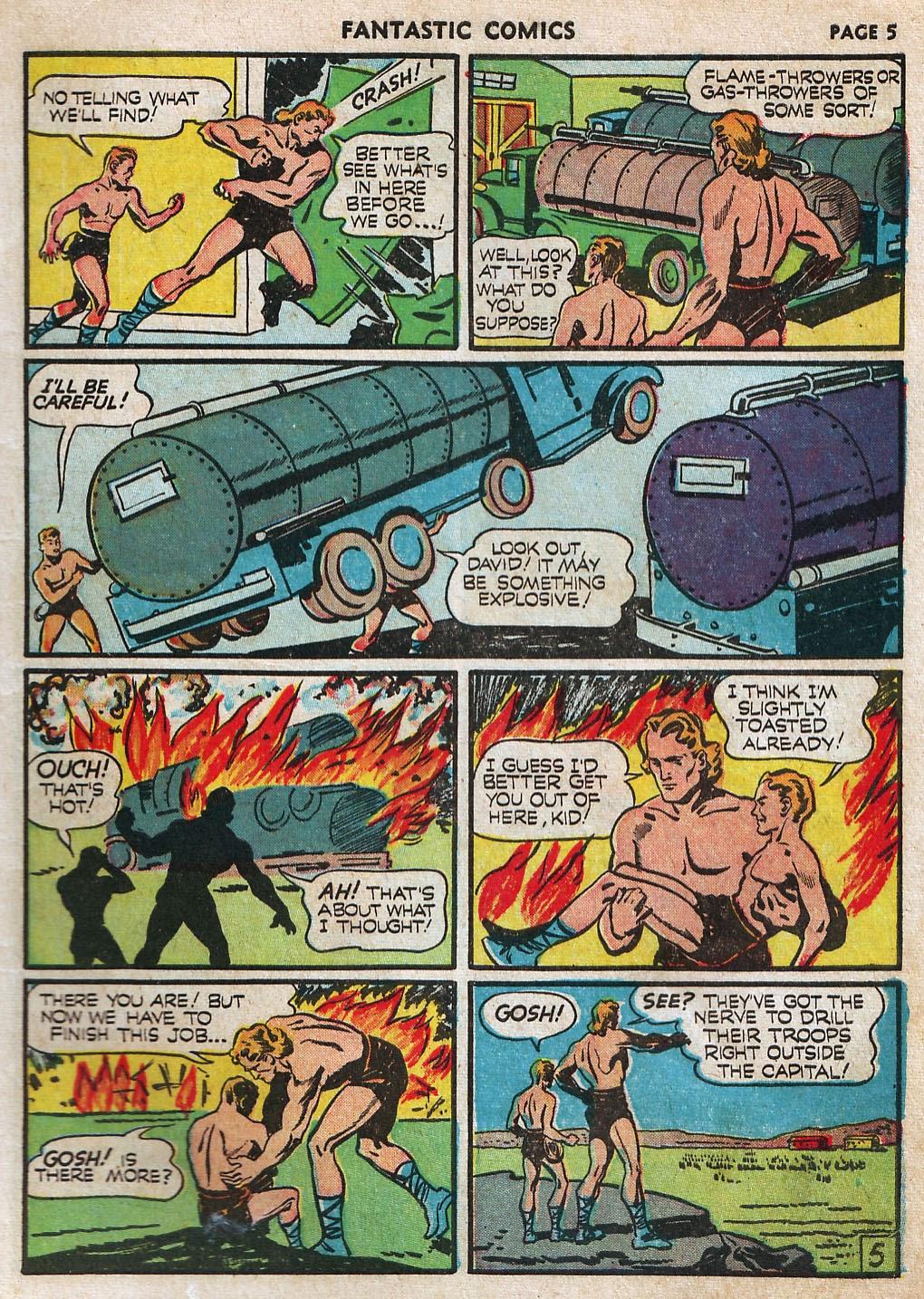 Read online Fantastic Comics comic -  Issue #17 - 7