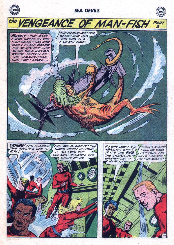 Read online Sea Devils comic -  Issue #24 - 28