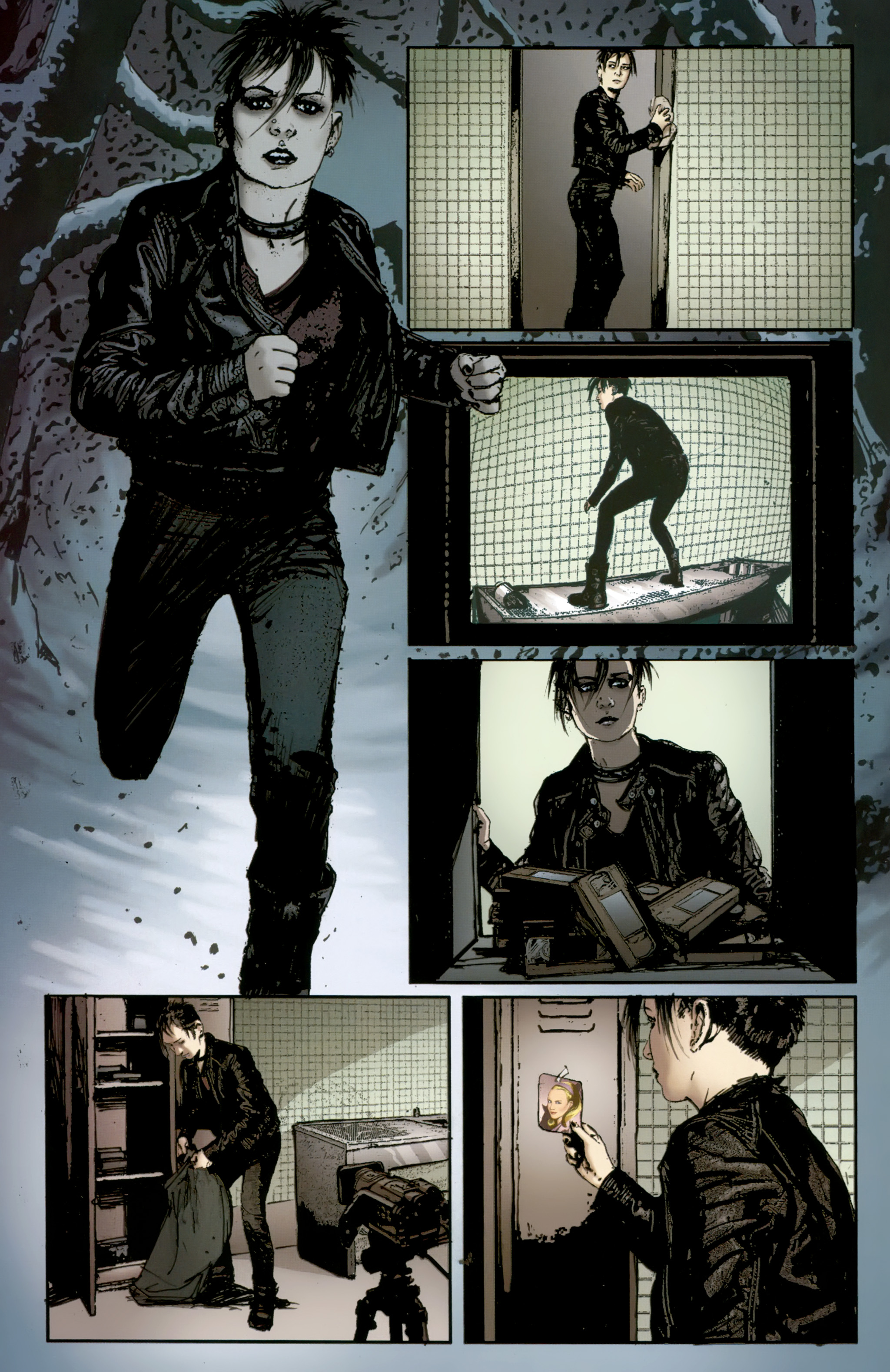 Read online The Girl With the Dragon Tattoo comic -  Issue # TPB 2 - 112