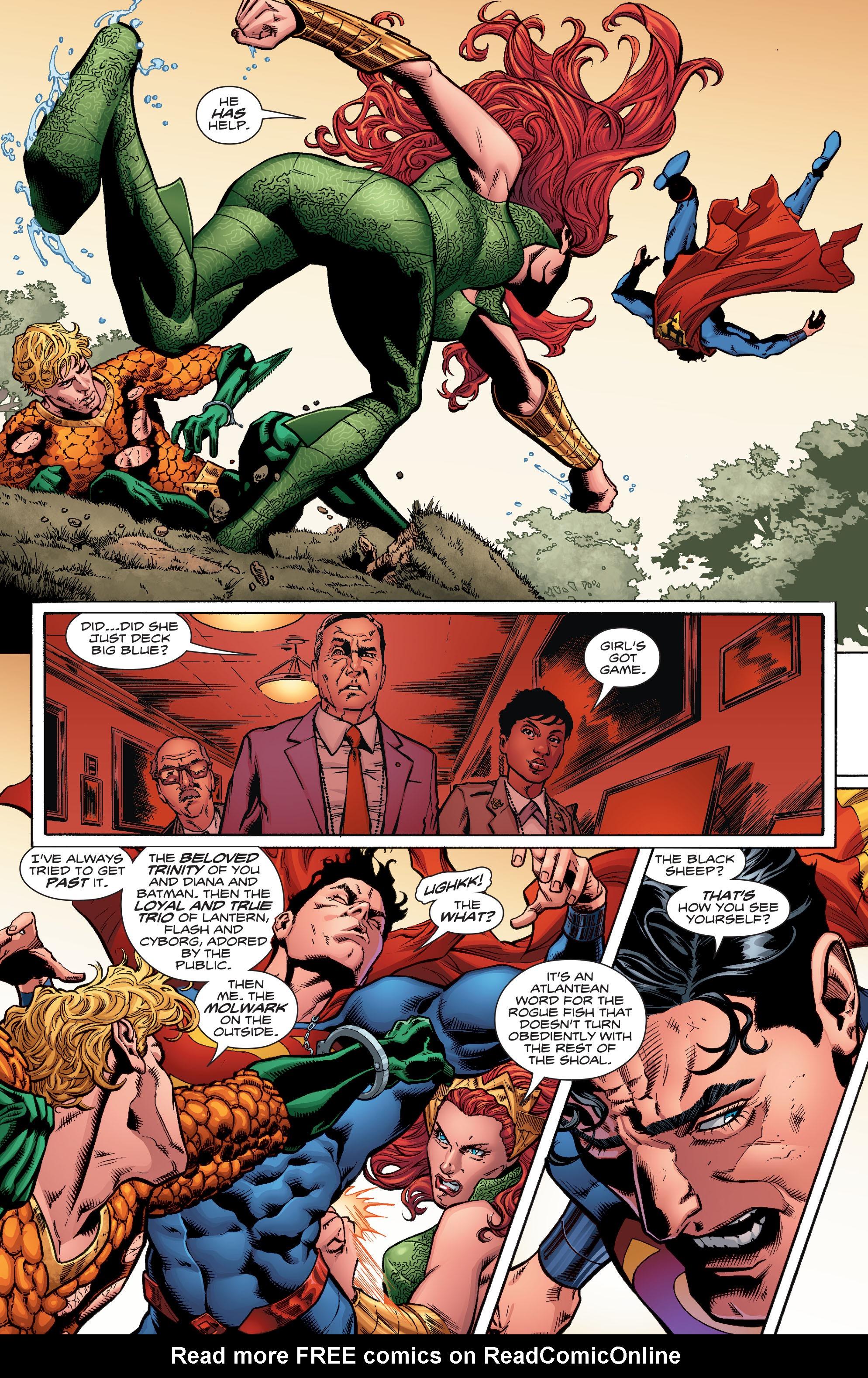 Read online Aquaman (2016) comic -  Issue #6 - 10