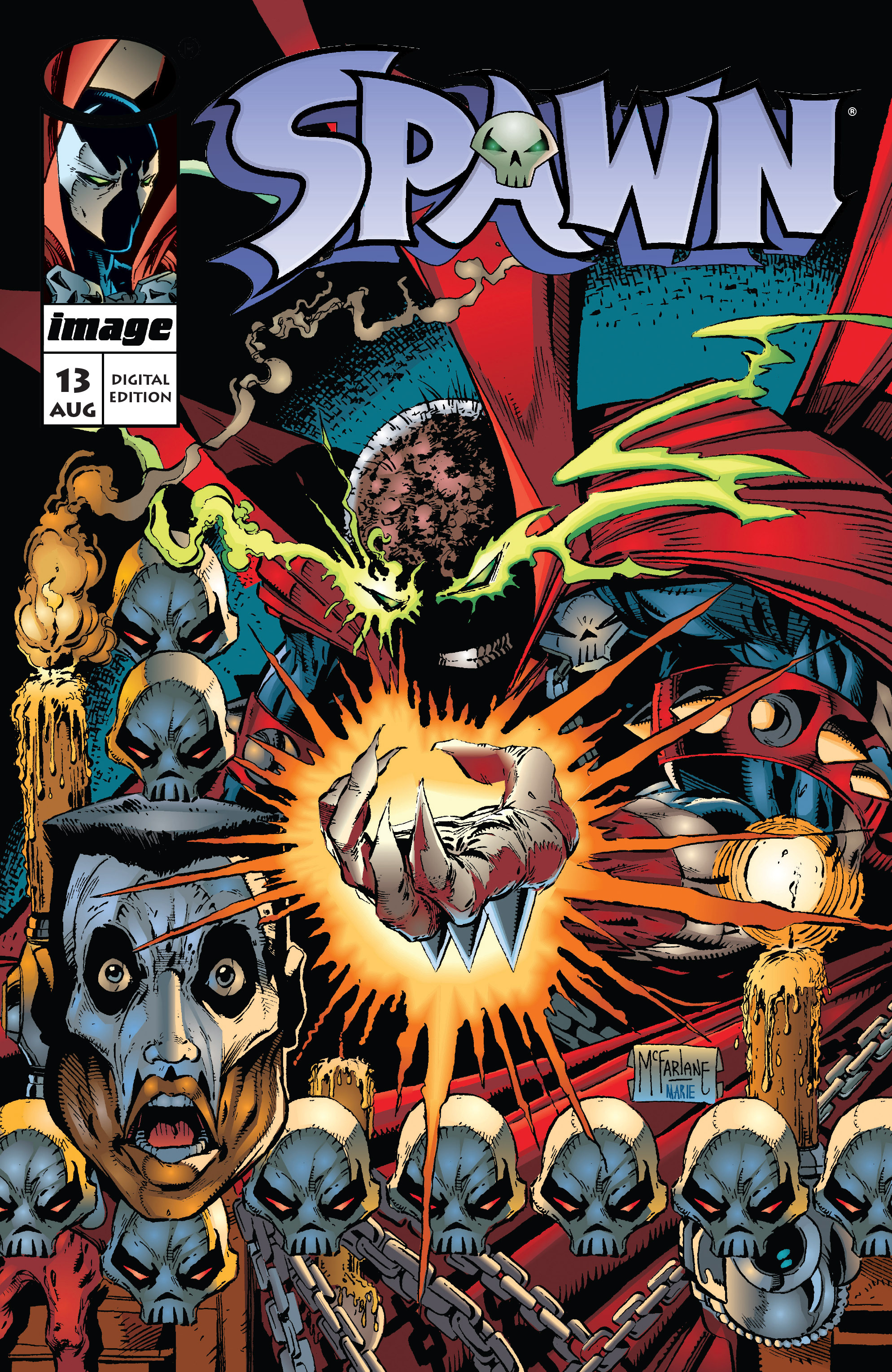 Spawn 13 Page 1