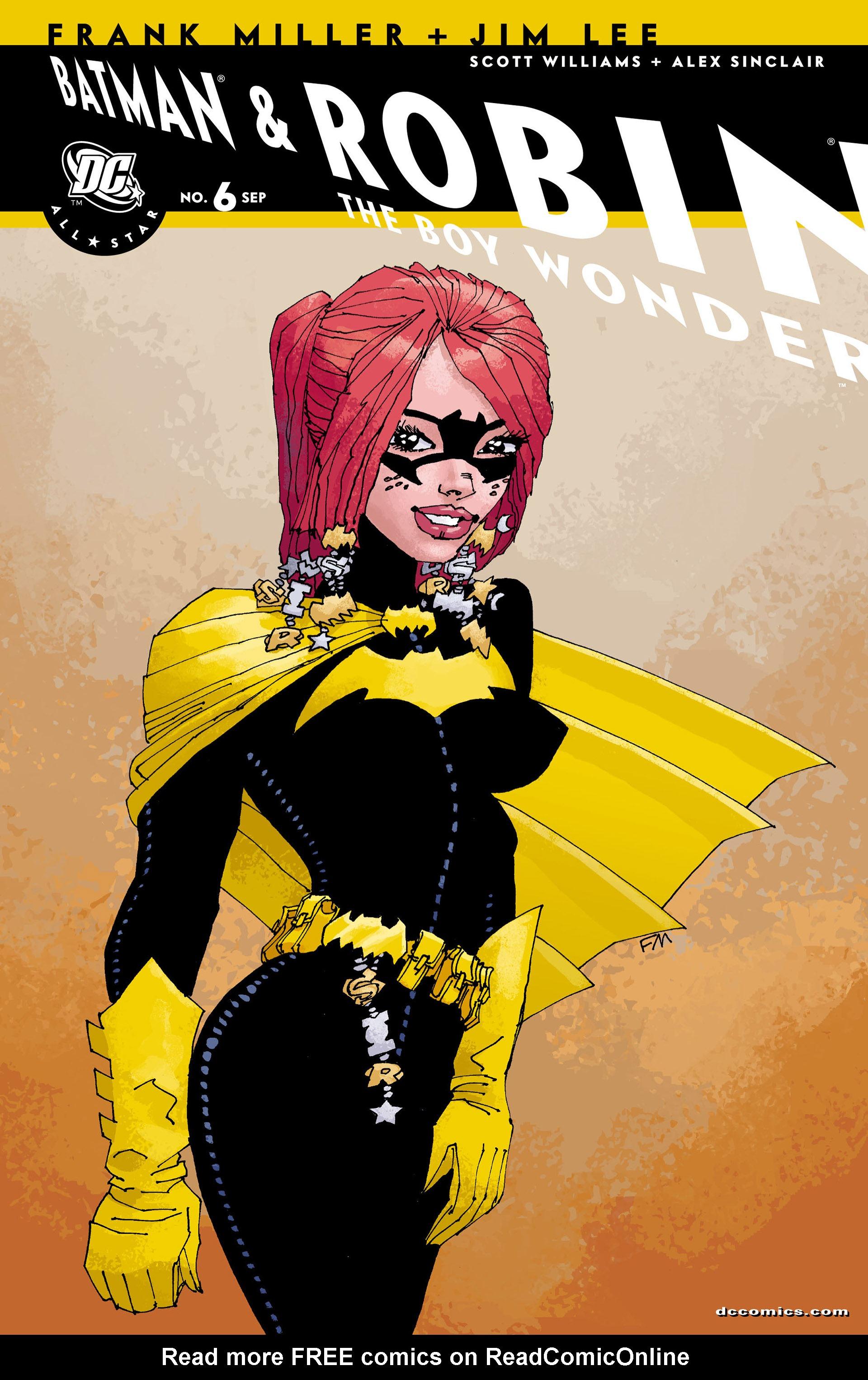 Read online All Star Batman & Robin, The Boy Wonder comic -  Issue #6 - 2