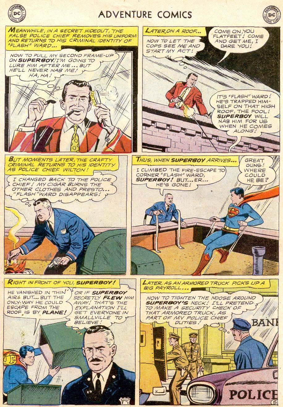 Read online Adventure Comics (1938) comic -  Issue #256 - 7