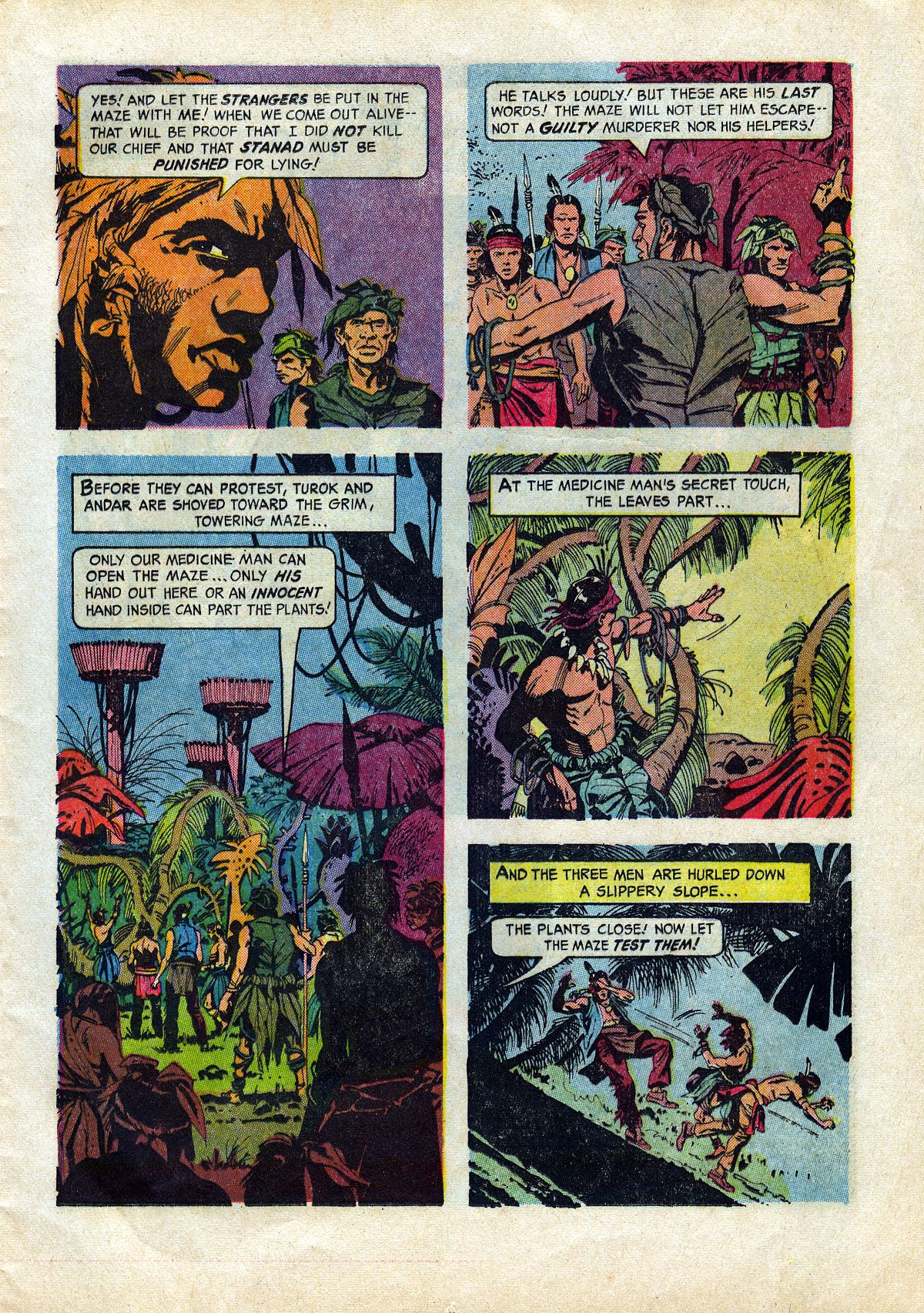 Read online Turok, Son of Stone comic -  Issue #45 - 13