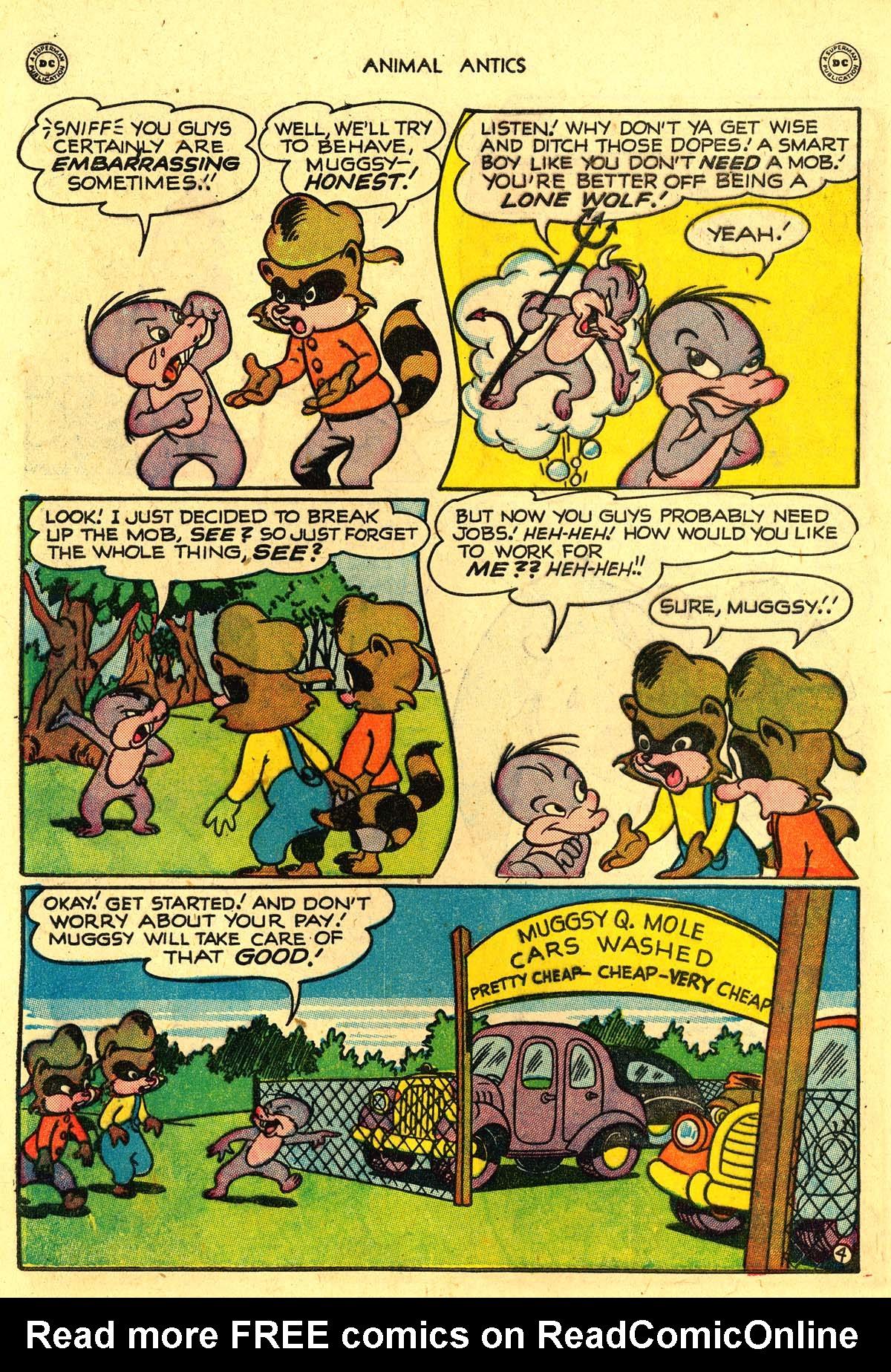 Read online Animal Antics comic -  Issue #18 - 6