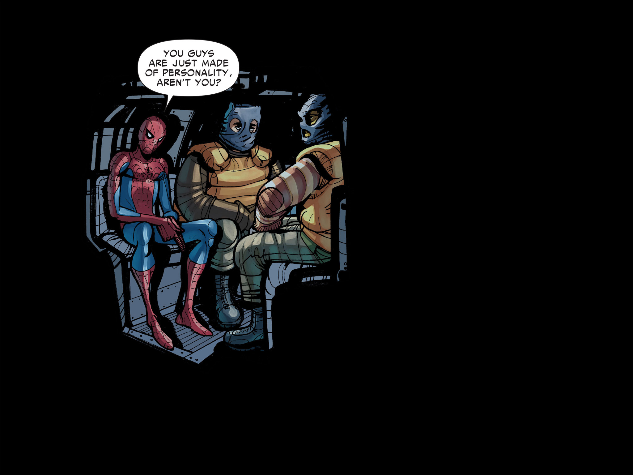 Read online Amazing Spider-Man: Who Am I? comic -  Issue # Full (Part 1) - 115