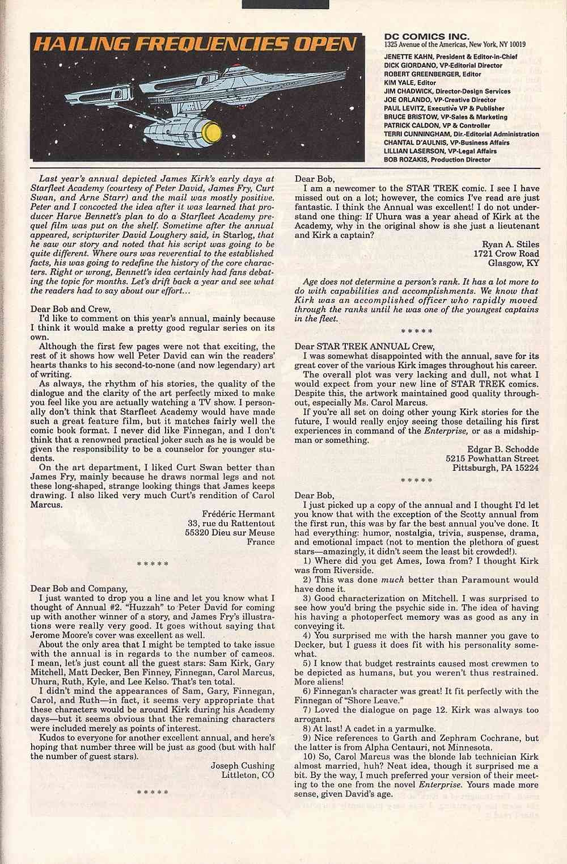 Read online Star Trek (1989) comic -  Issue # Annual 3 - 63