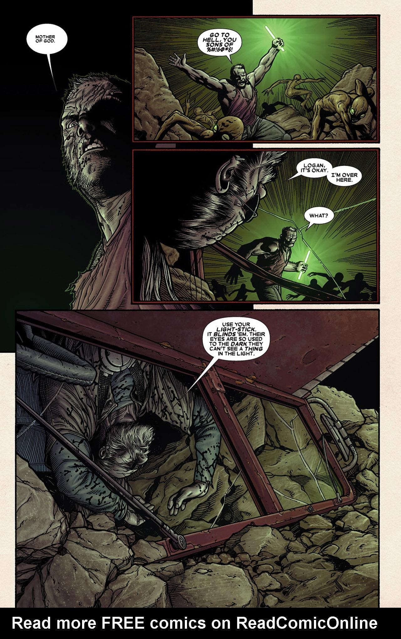 Read online Wolverine: Old Man Logan comic -  Issue # Full - 80