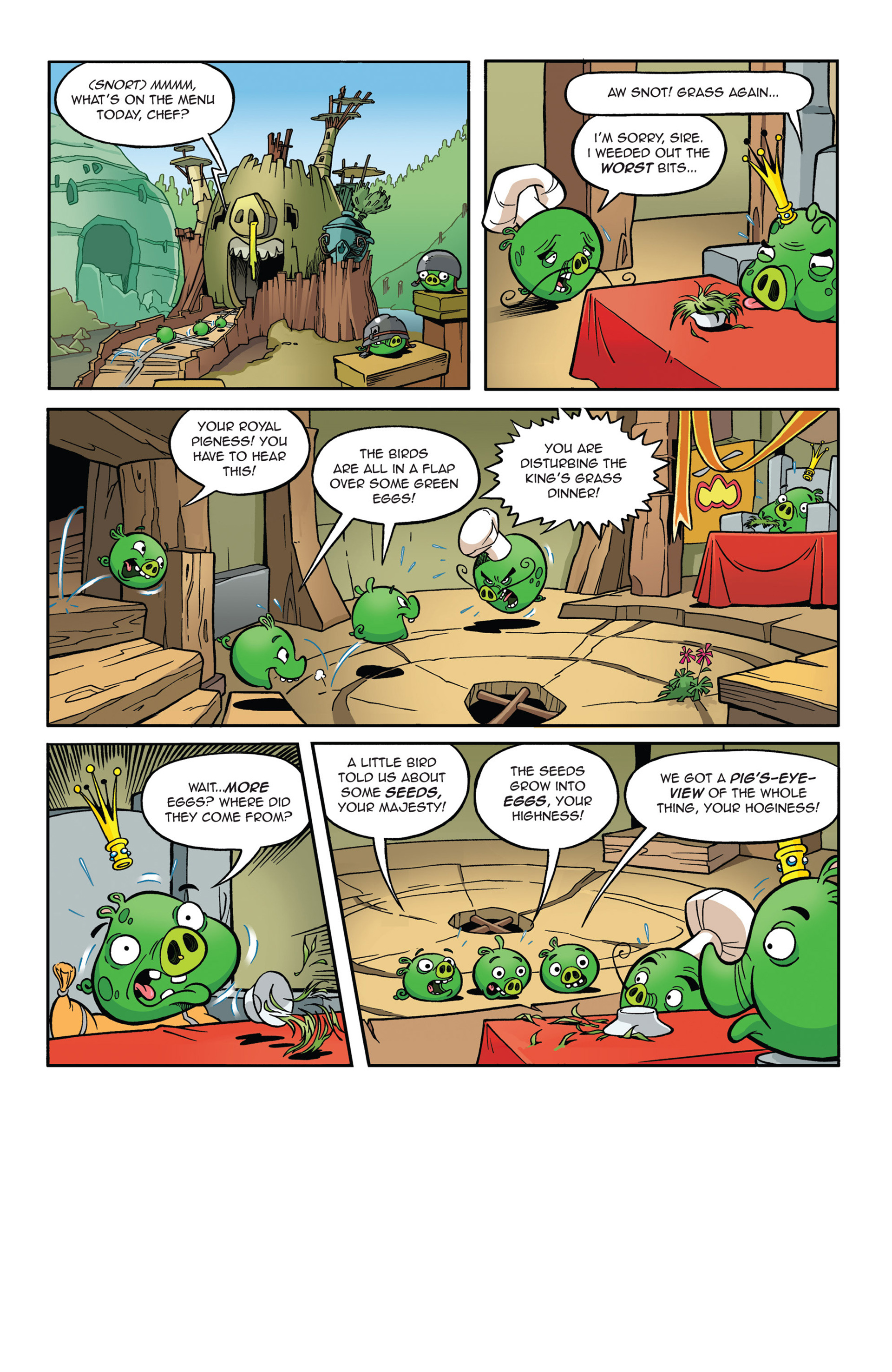 Read online Angry Birds Comics (2014) comic -  Issue #5 - 6