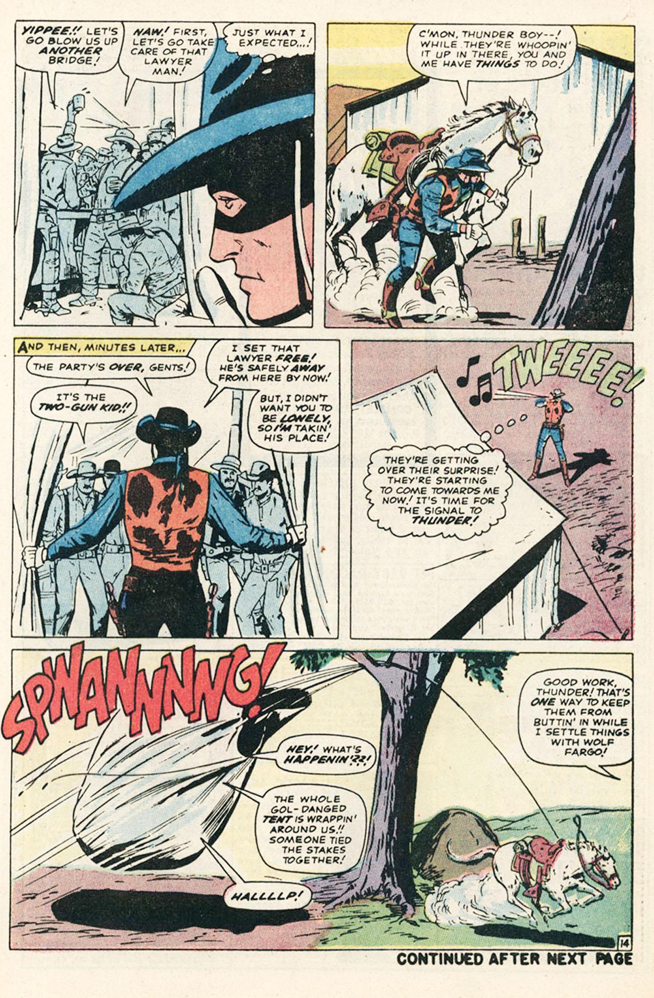 Read online Two-Gun Kid comic -  Issue #95 - 21