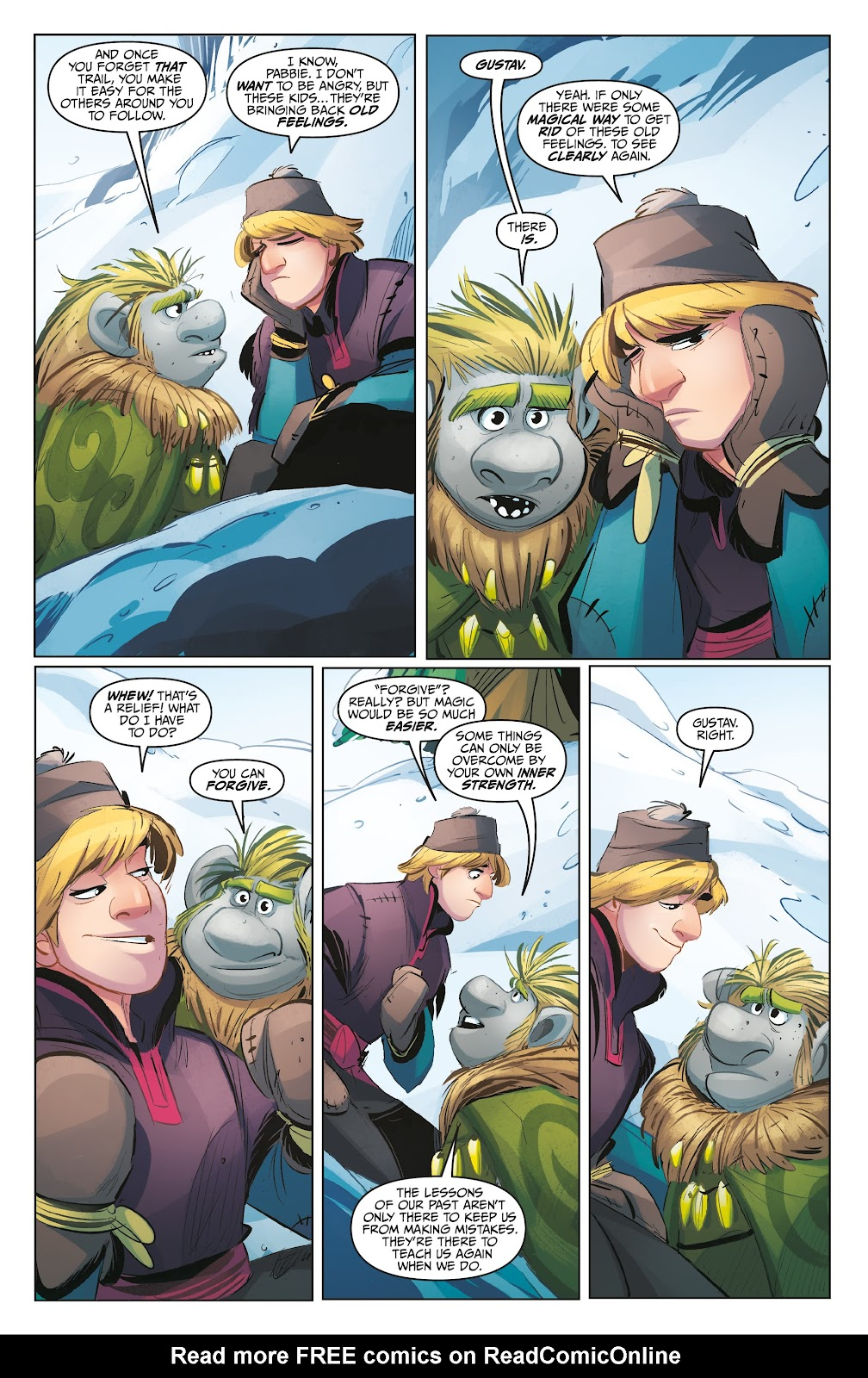 Read online Disney Frozen: The Hero Within comic -  Issue #2 - 18