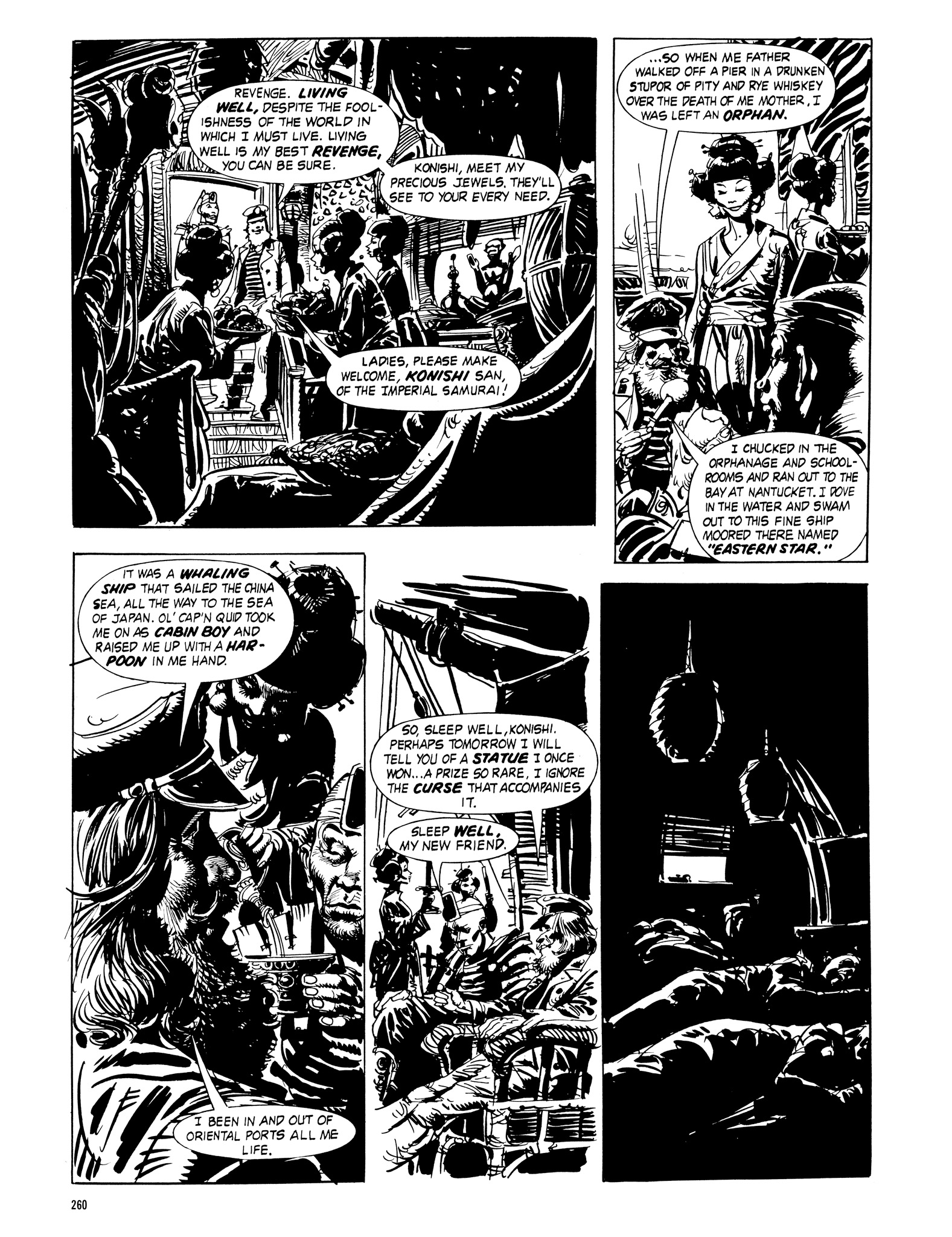 Read online Eerie Archives comic -  Issue # TPB 16 - 261