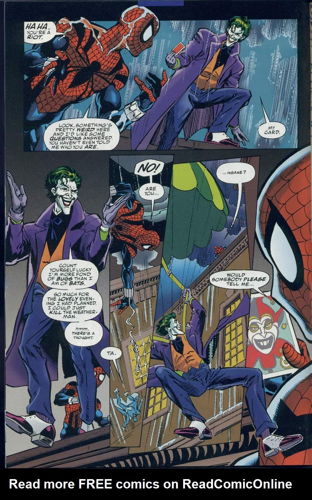 Read online DC Versus Marvel Comics comic -  Issue #1 - 8