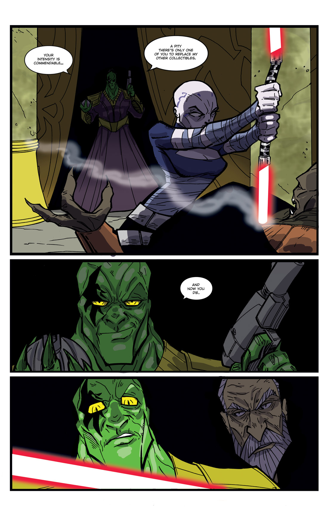 Read online Star Wars: Tales From The Clone Wars comic -  Issue # TPB - 44