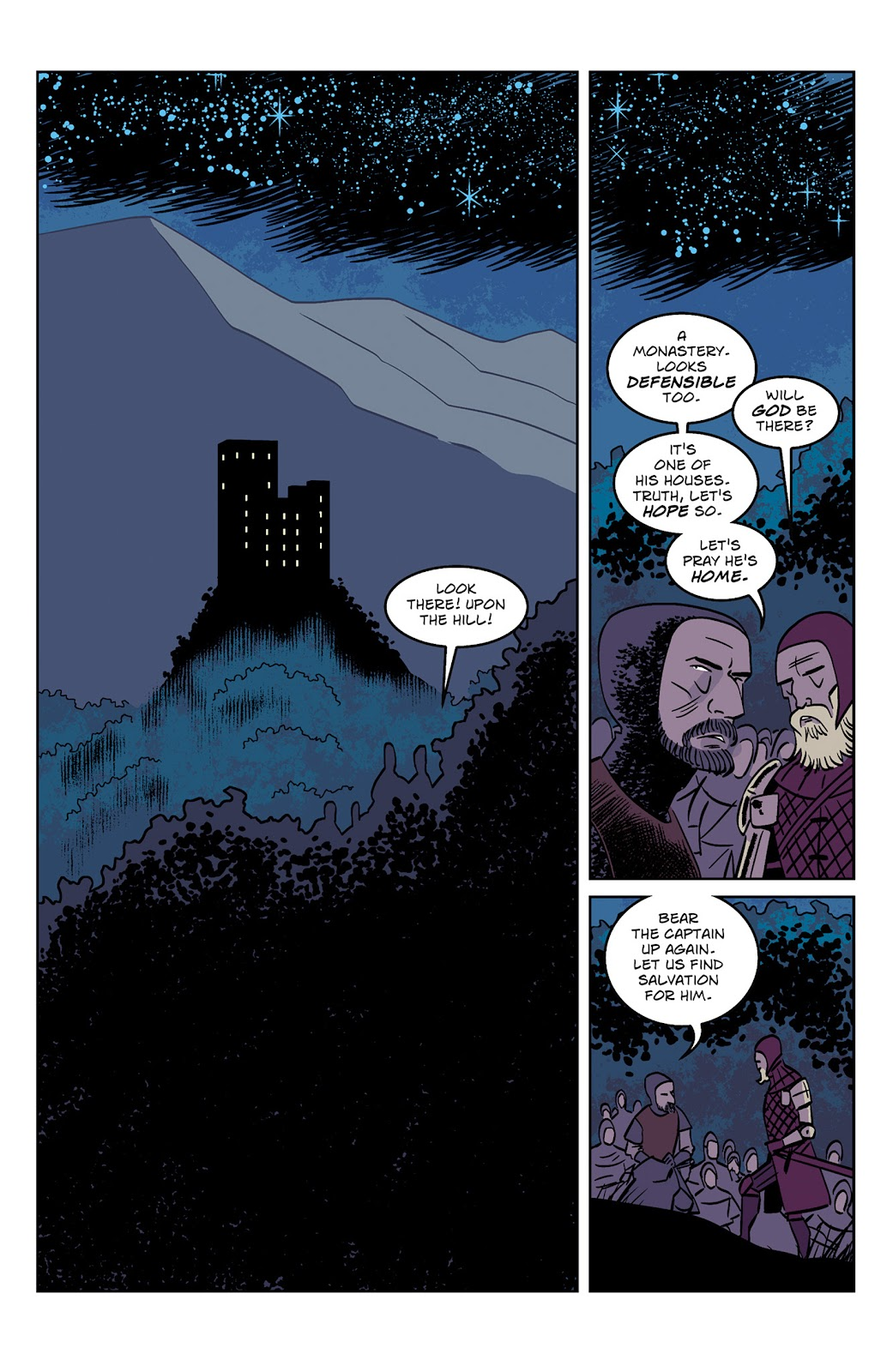 Read online Dark Ages comic -  Issue #1 - 17