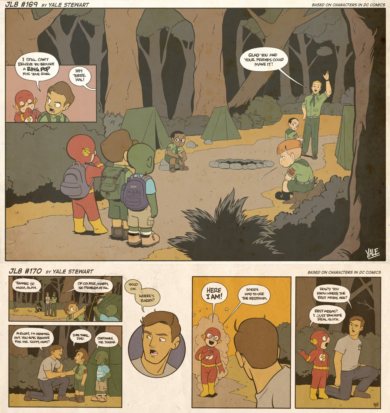 Read online JL8 – The Complete Collection comic -  Issue # TPB (Part 1) - 88