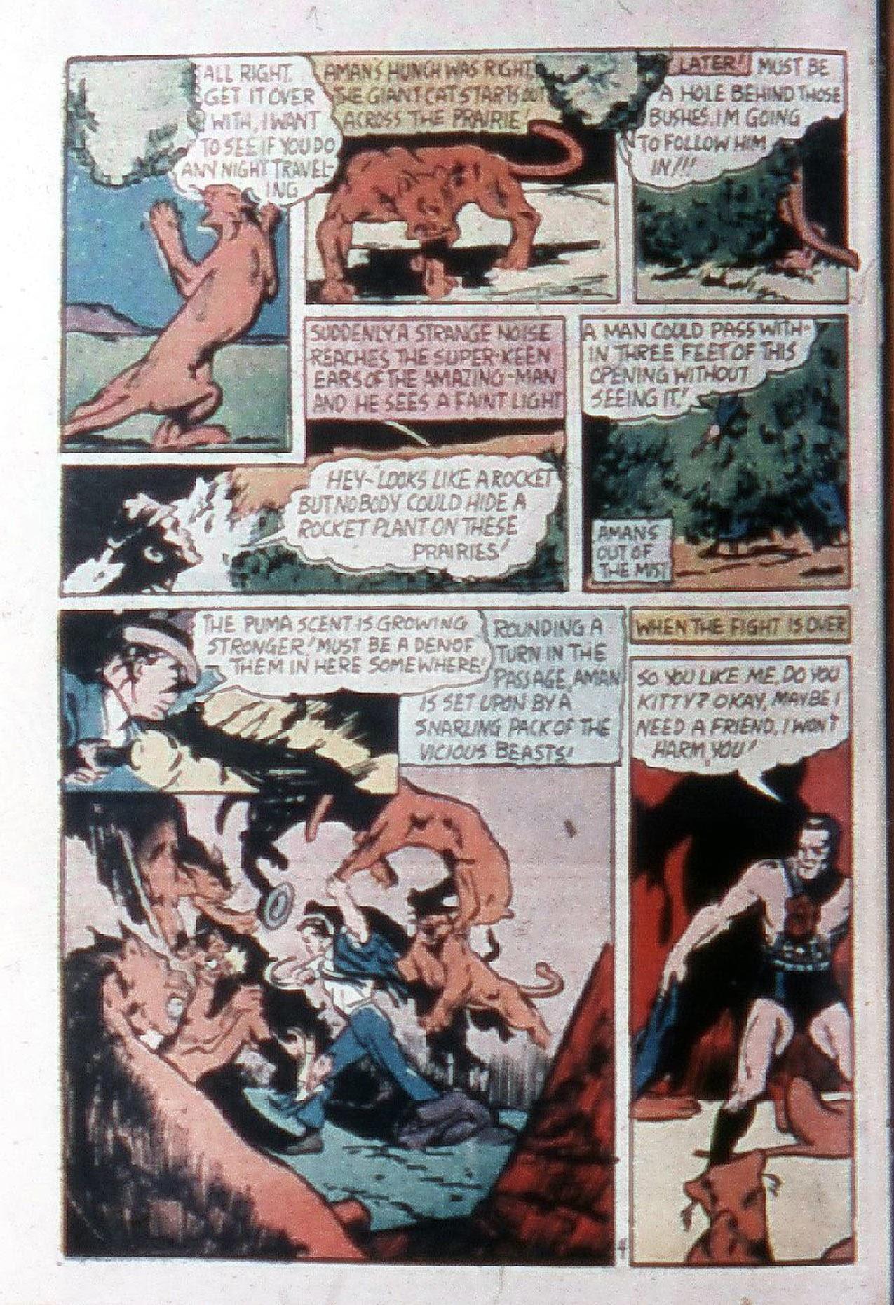 Read online Amazing Man Comics comic -  Issue #20 - 7