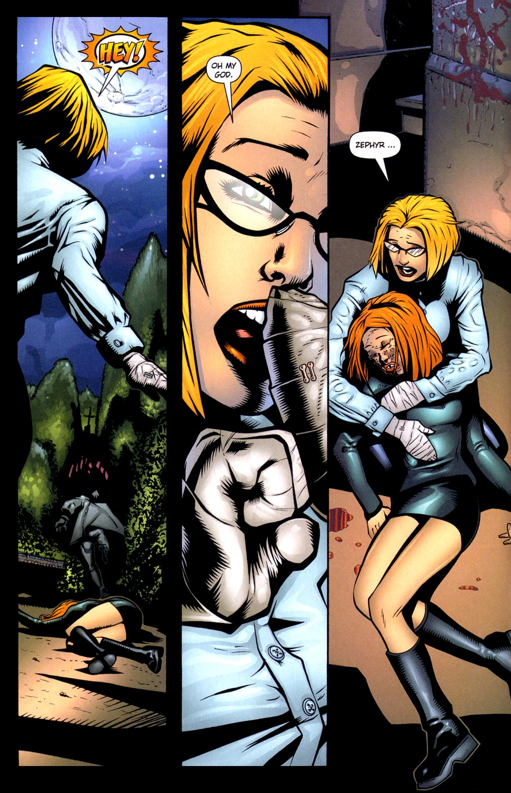 Read online Noble Causes (2002) comic -  Issue #3 - 6