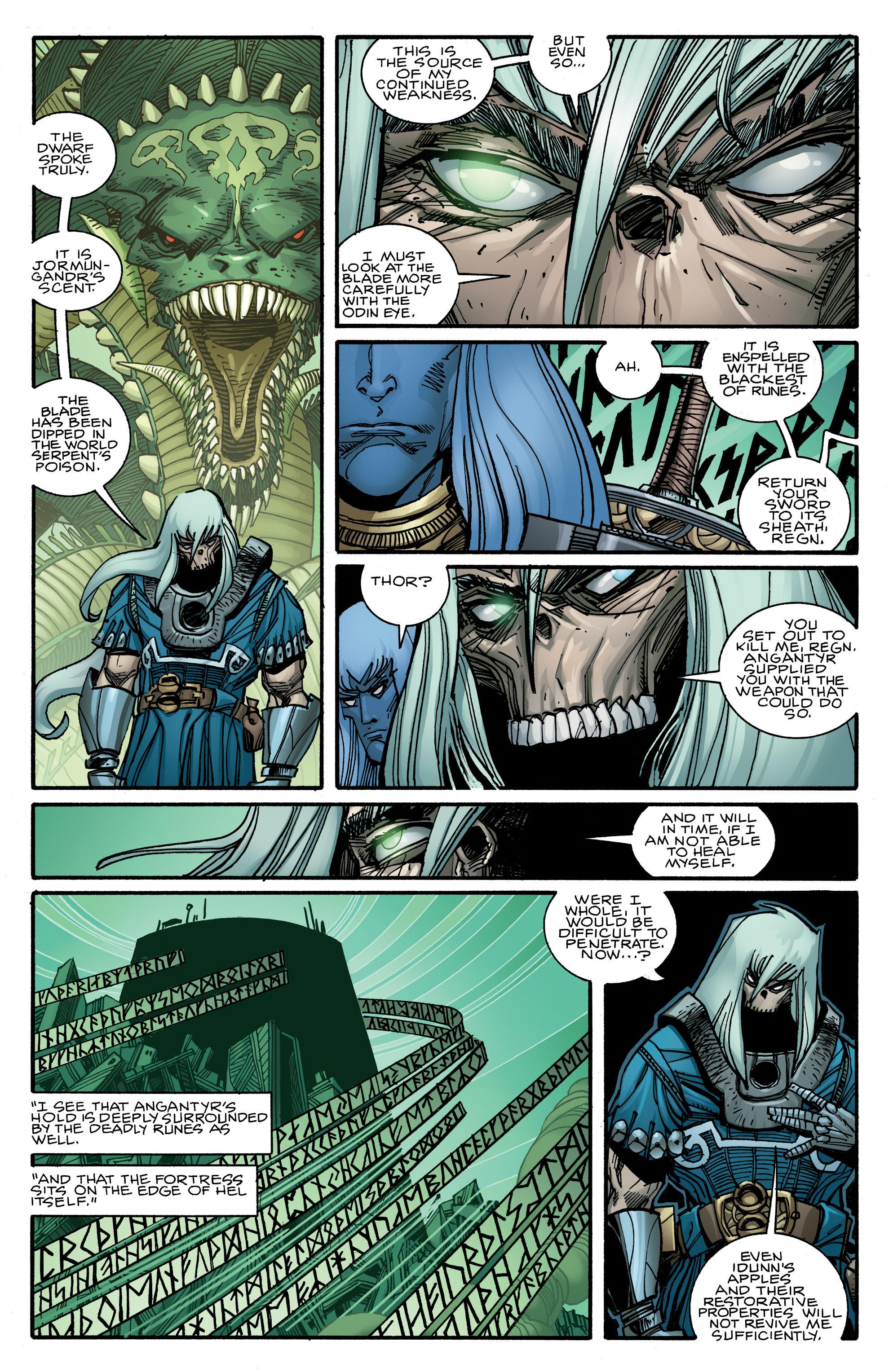 Read online Ragnarok comic -  Issue #10 - 11