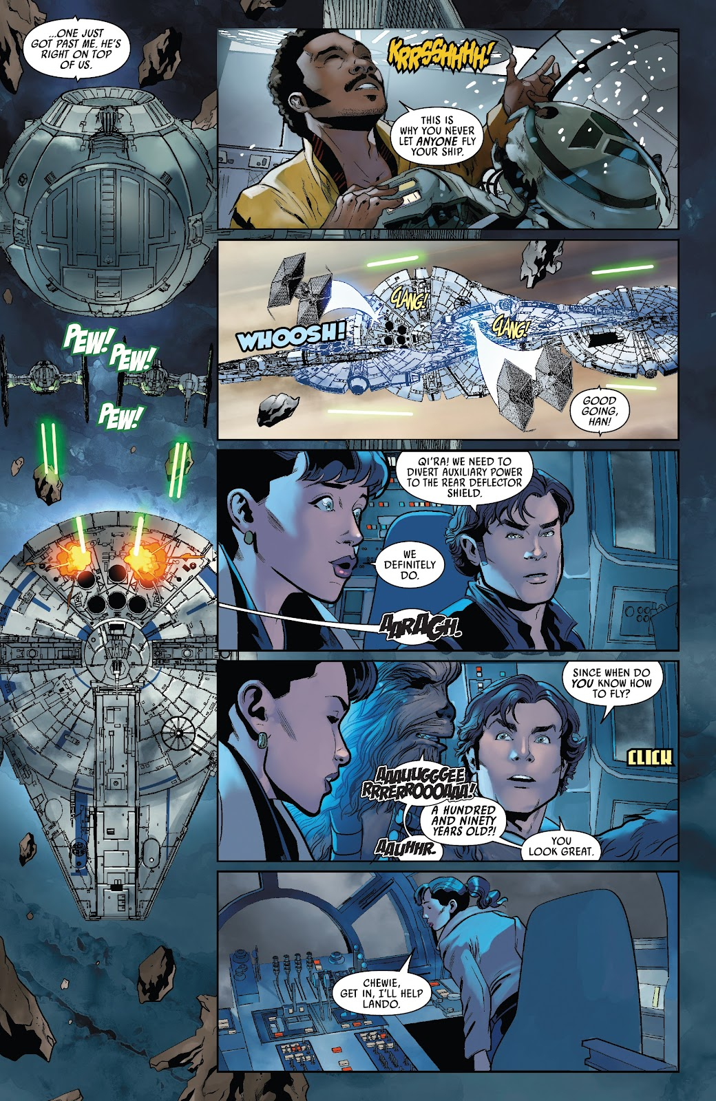 Read online Solo: A Star Wars Story Adaptation comic -  Issue #5 - 6