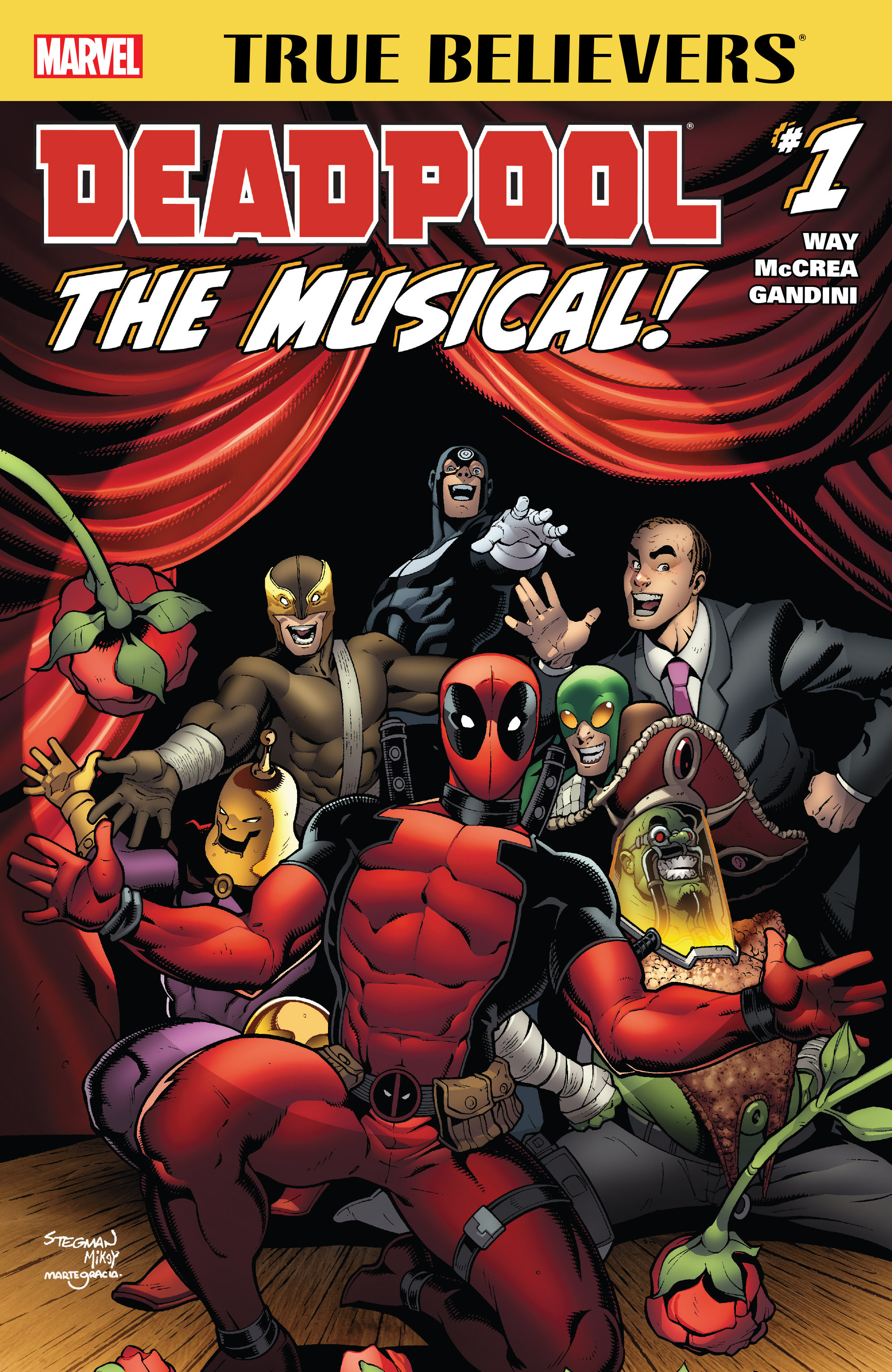 Read online True Believers: Deadpool the Musical comic -  Issue # Full - 1