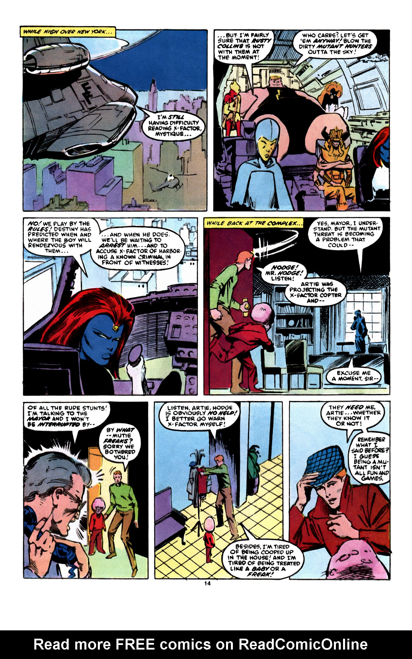 Read online X-Factor (1986) comic -  Issue #8 - 15